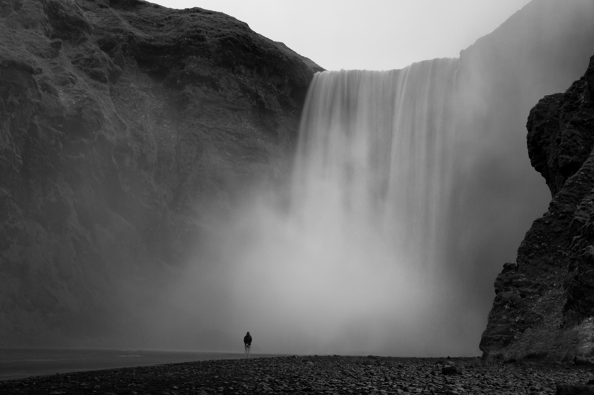 Skogafoss by Chris König