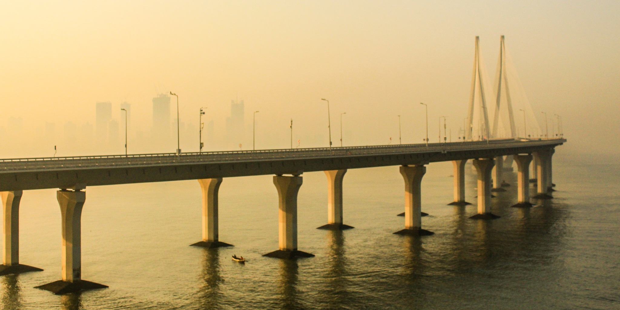 Sea-Link. by sushant Kanchan