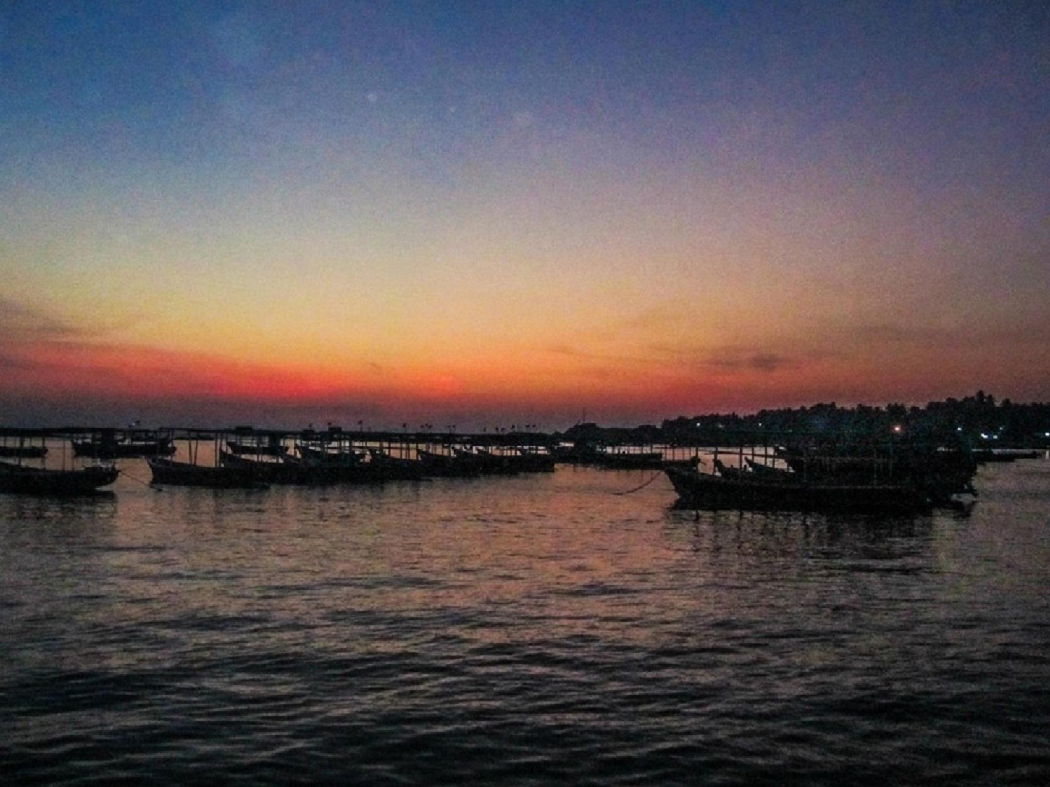 Serene sunset by sushant Kanchan