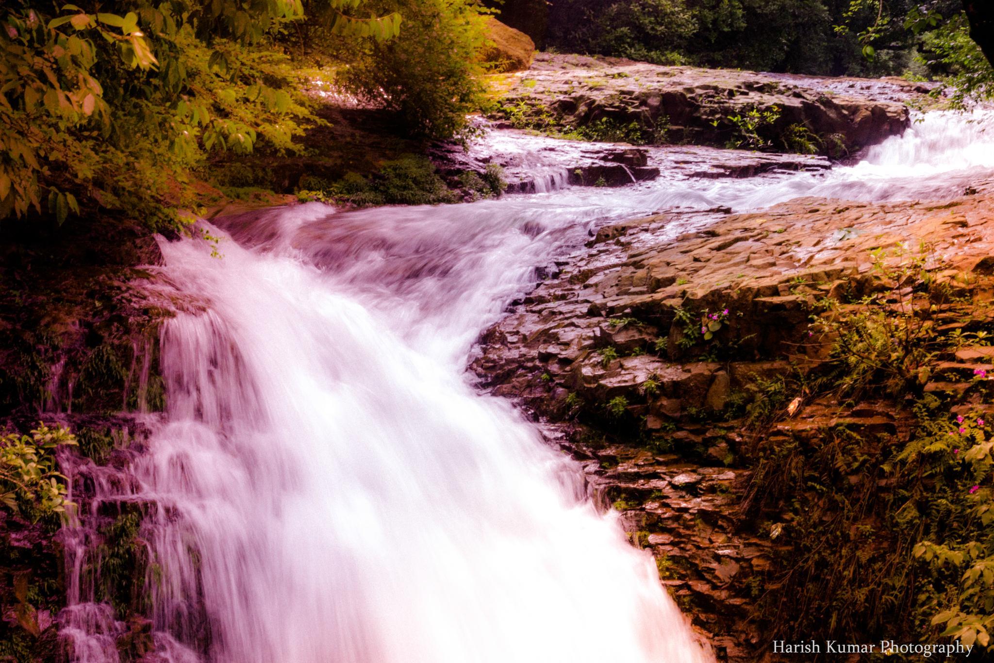 water fall by HarishKumar44