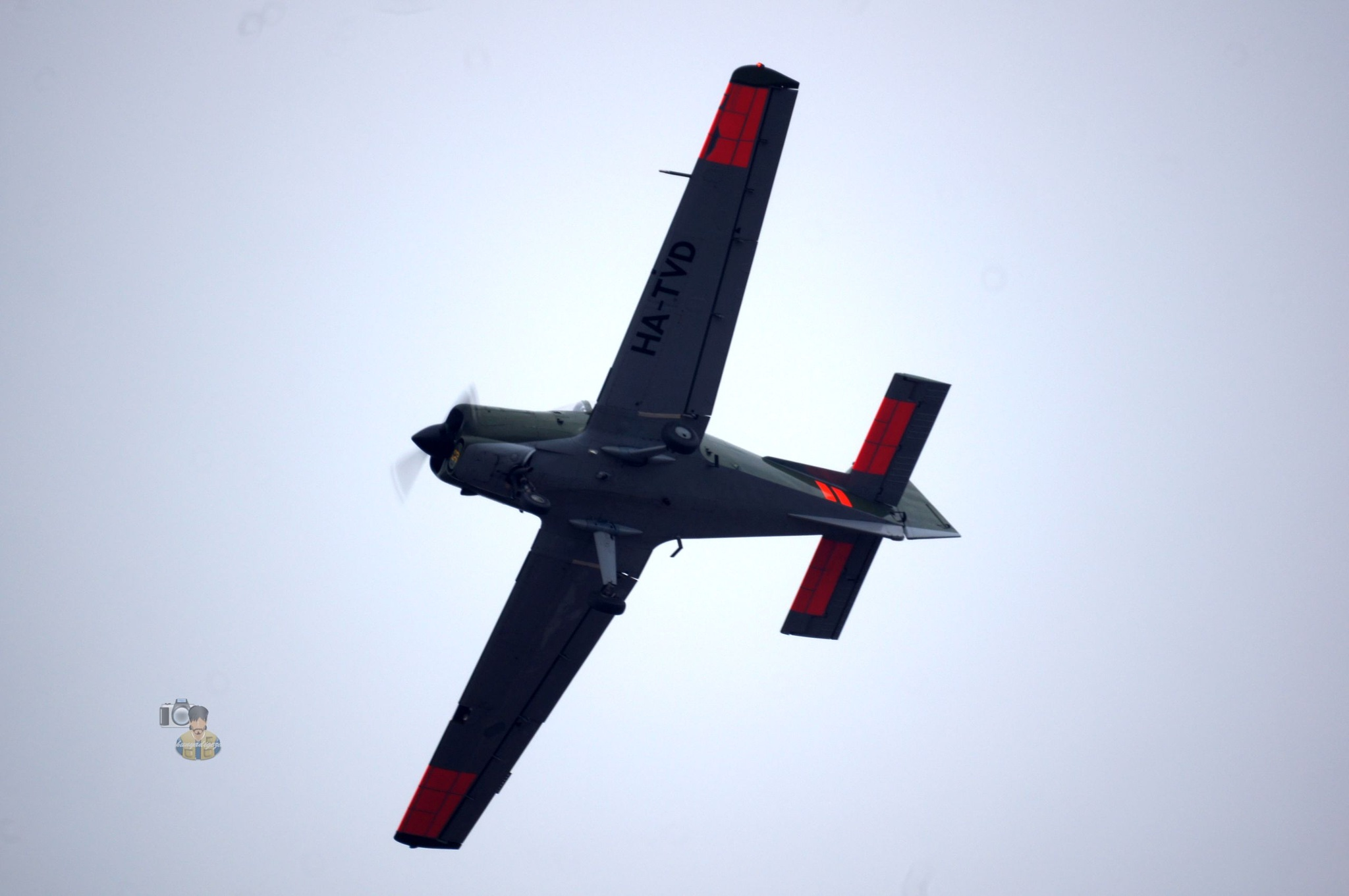 28.02.16. Scottish Aviation Sk 61 Bulldog # HA-TVD  by hunyadigeza