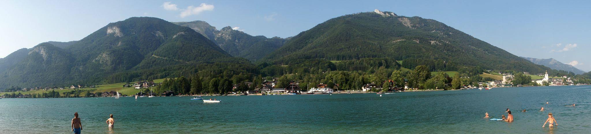 Wolfgangsee, Austria by hunyadigeza