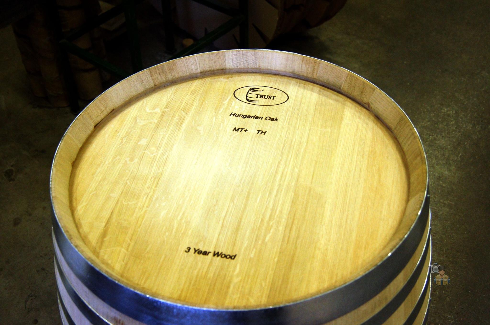 oak wine barrel production Szigetvár, Hungary by hunyadigeza