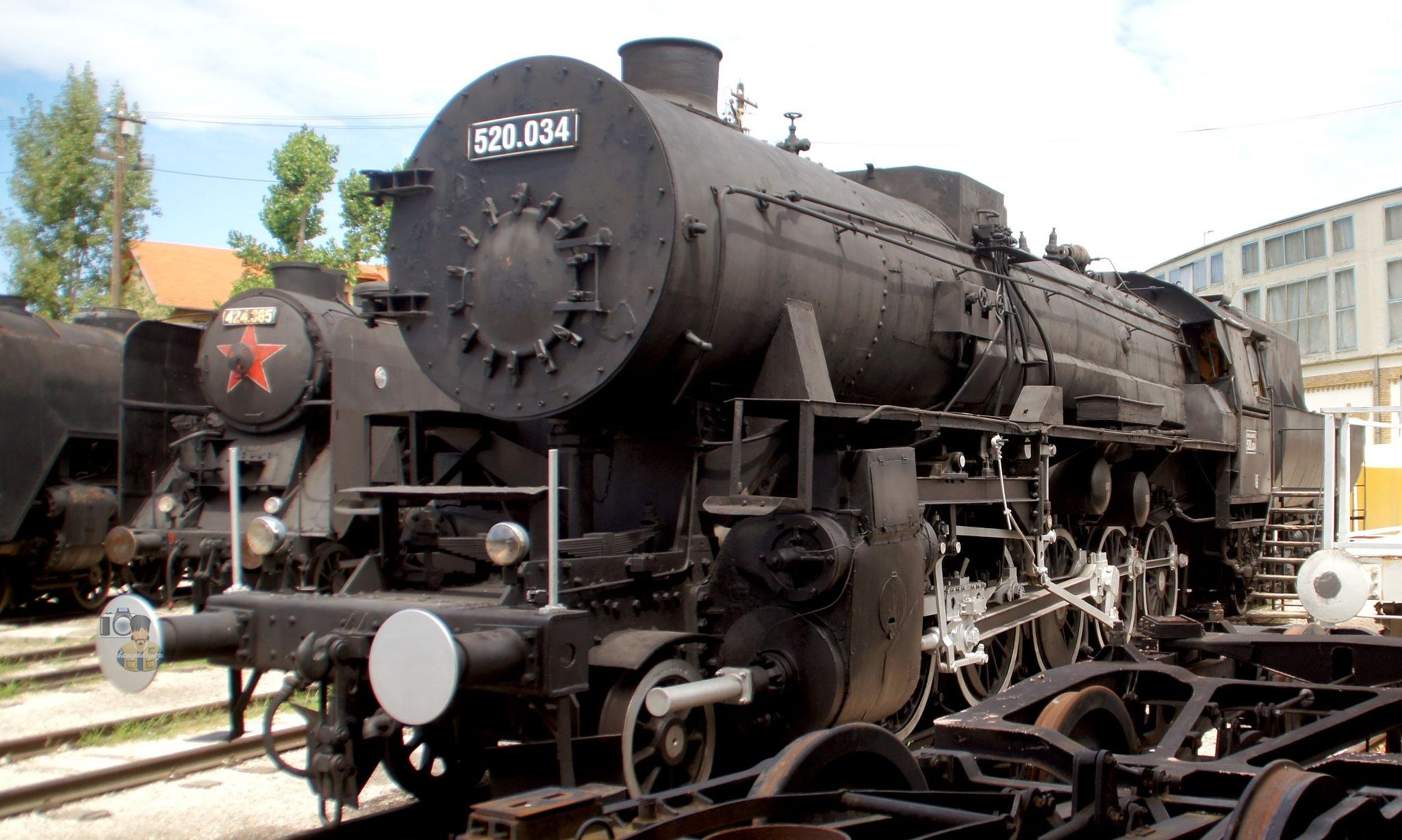 July 31, 2015. Hungarian Railway History Park Budapest, Hungary by hunyadigeza