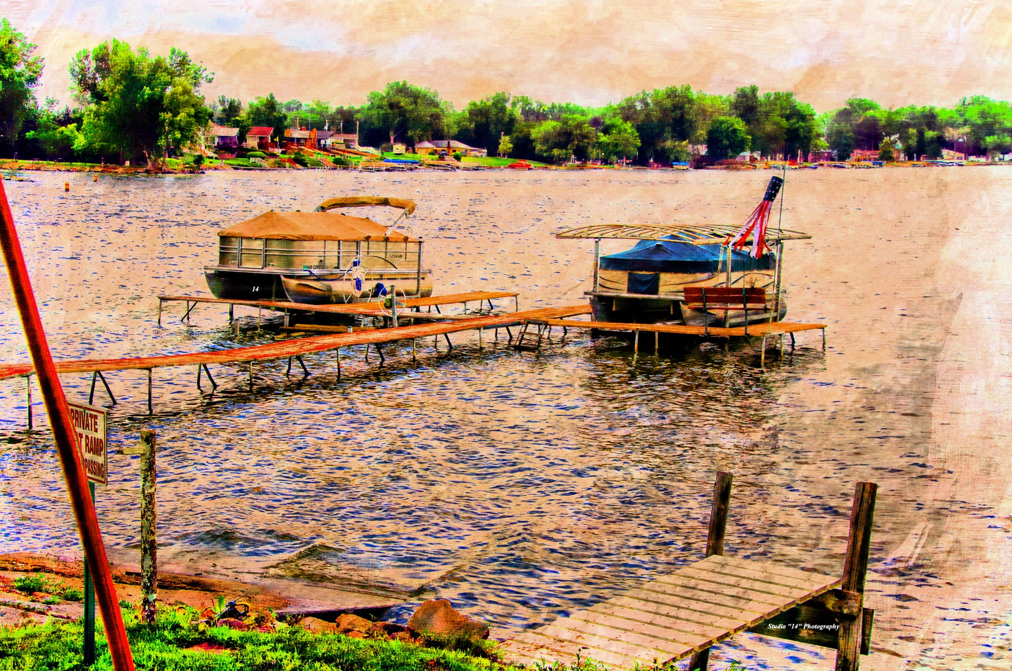 Summer At the Lake by Gary Cole