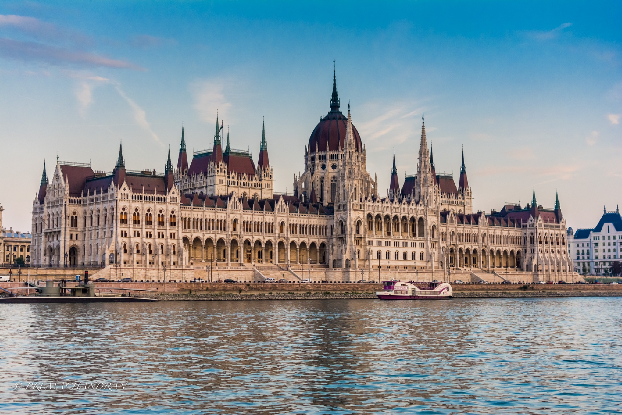 Hungarian Parliament by Dr.K.Premachandran
