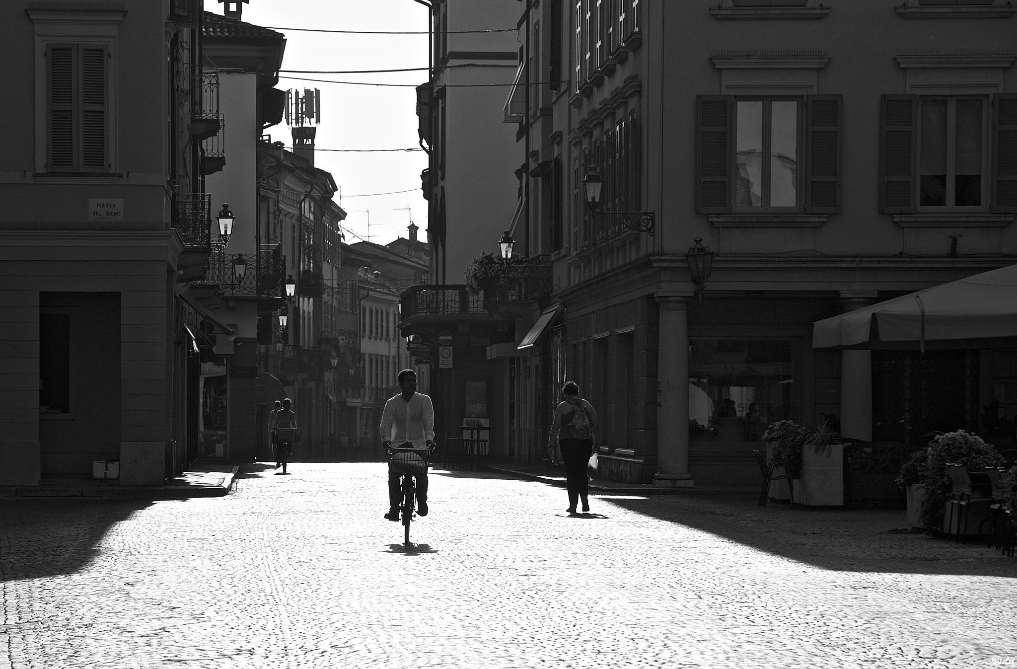 bici 2 bn by DavideNegro