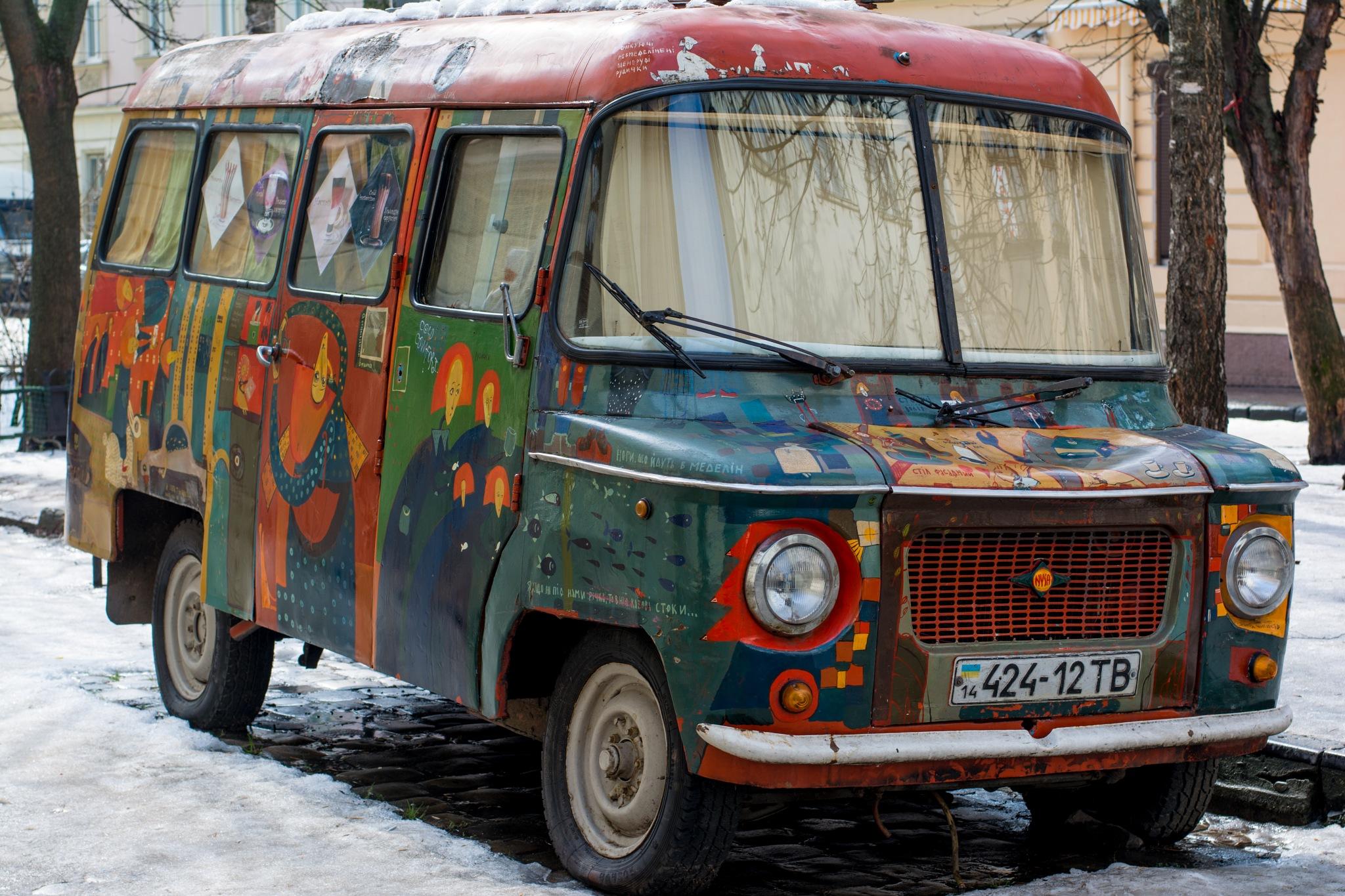 Cool car by Roman Borshovskyy