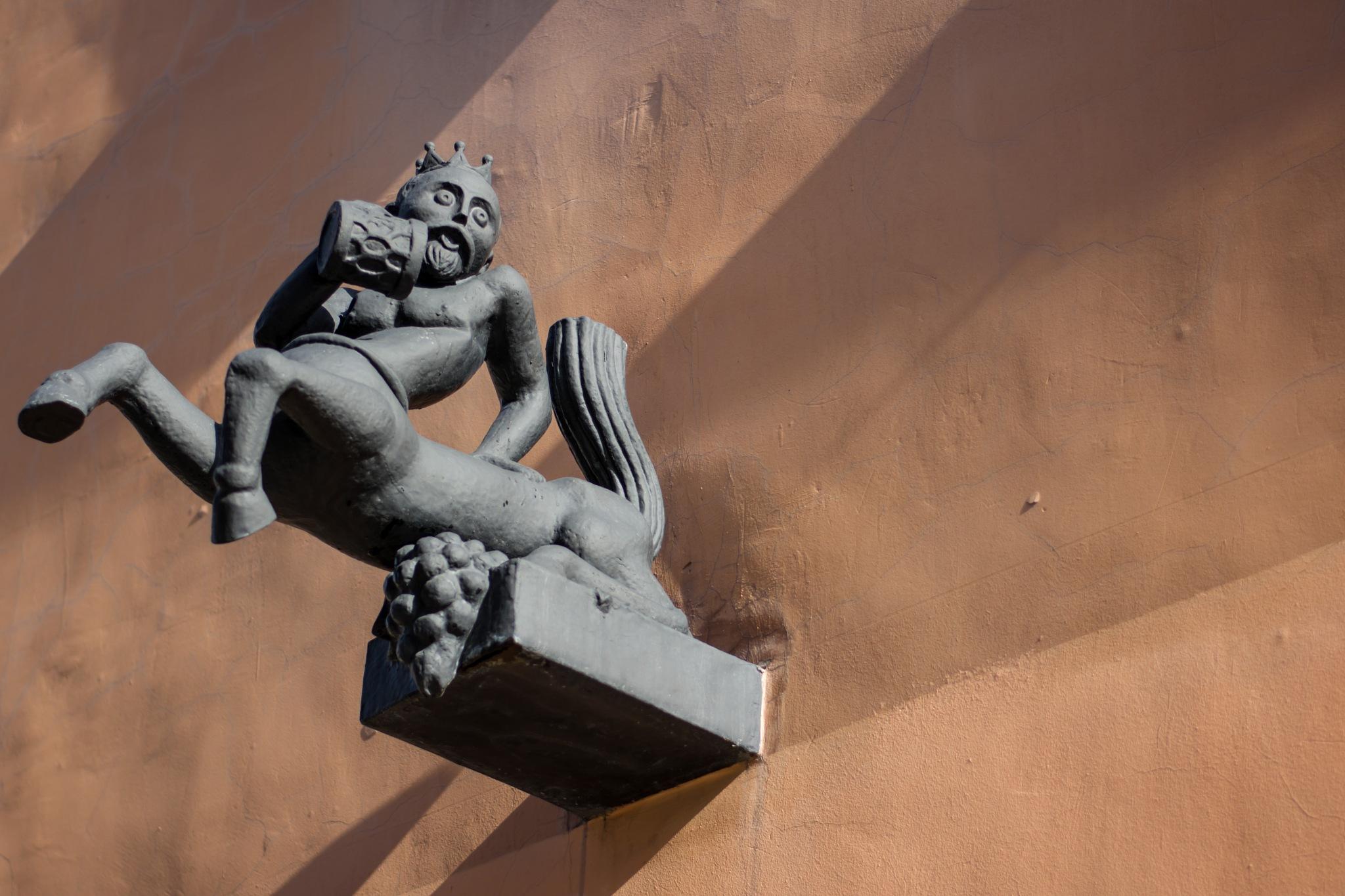 Monument to the Centaur (Lviv, Ukraine) by Roman Borshovskyy