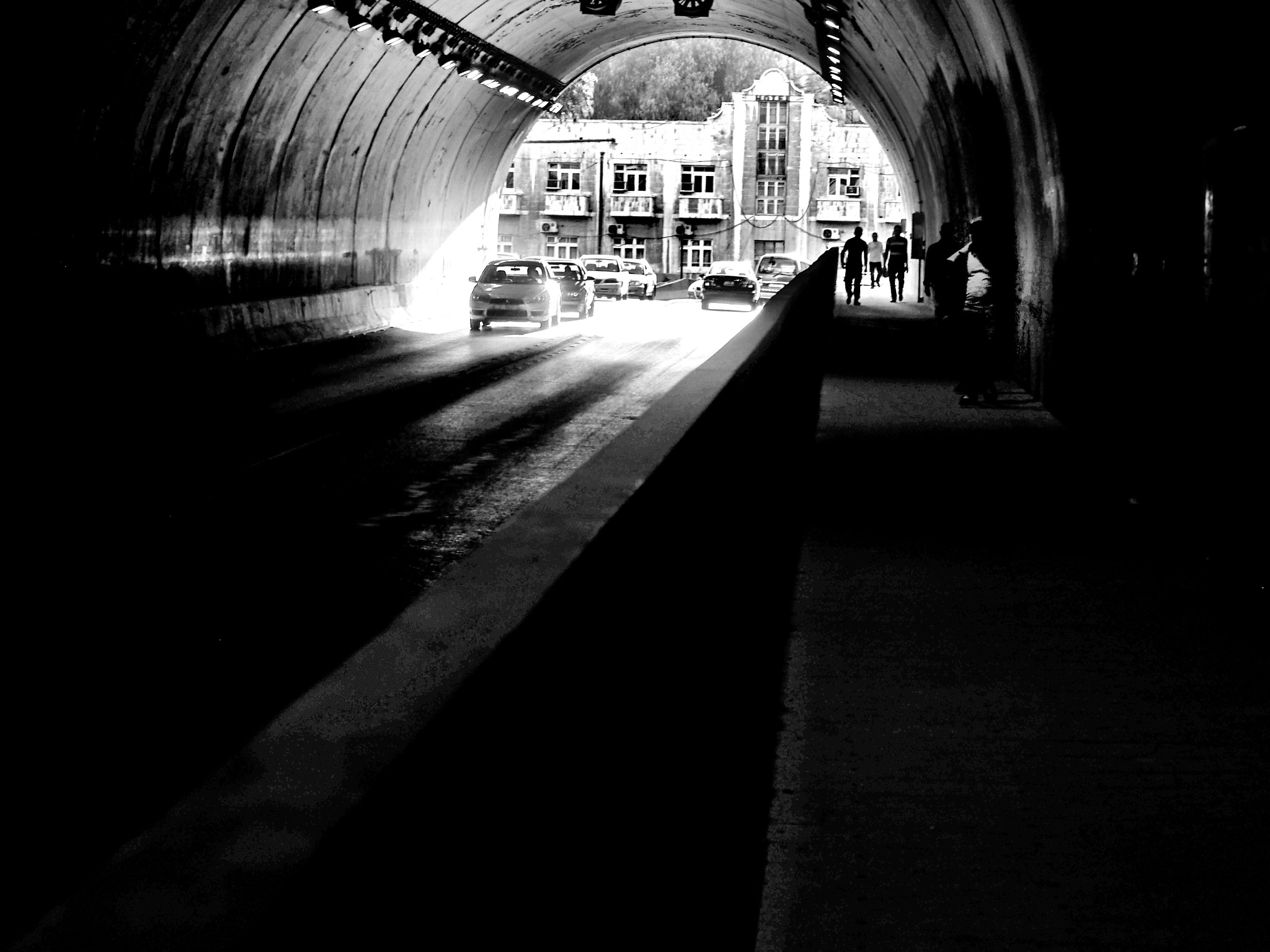 The Tunnel by Bert Lee