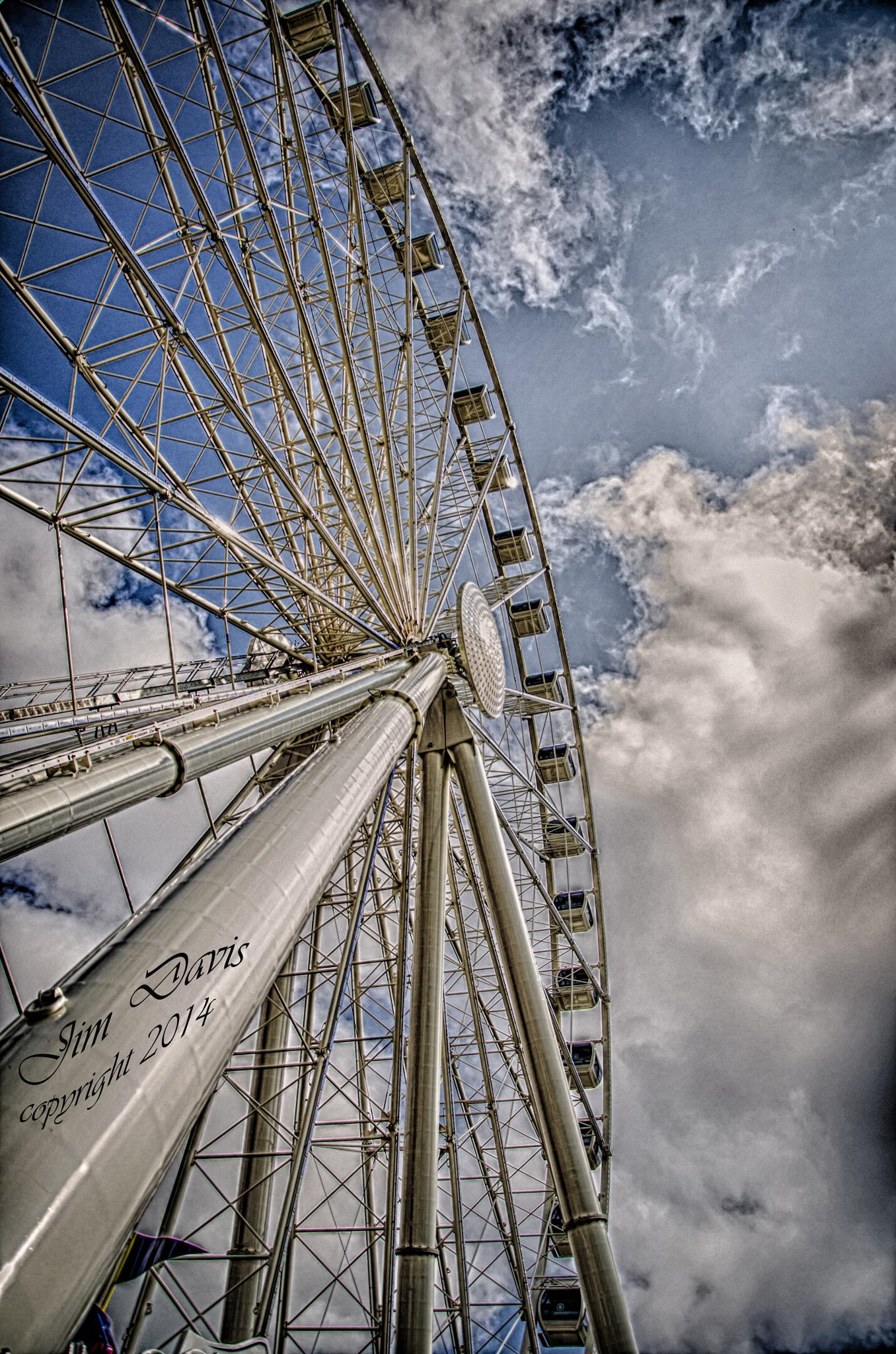The Big Wheel by Jim Davis
