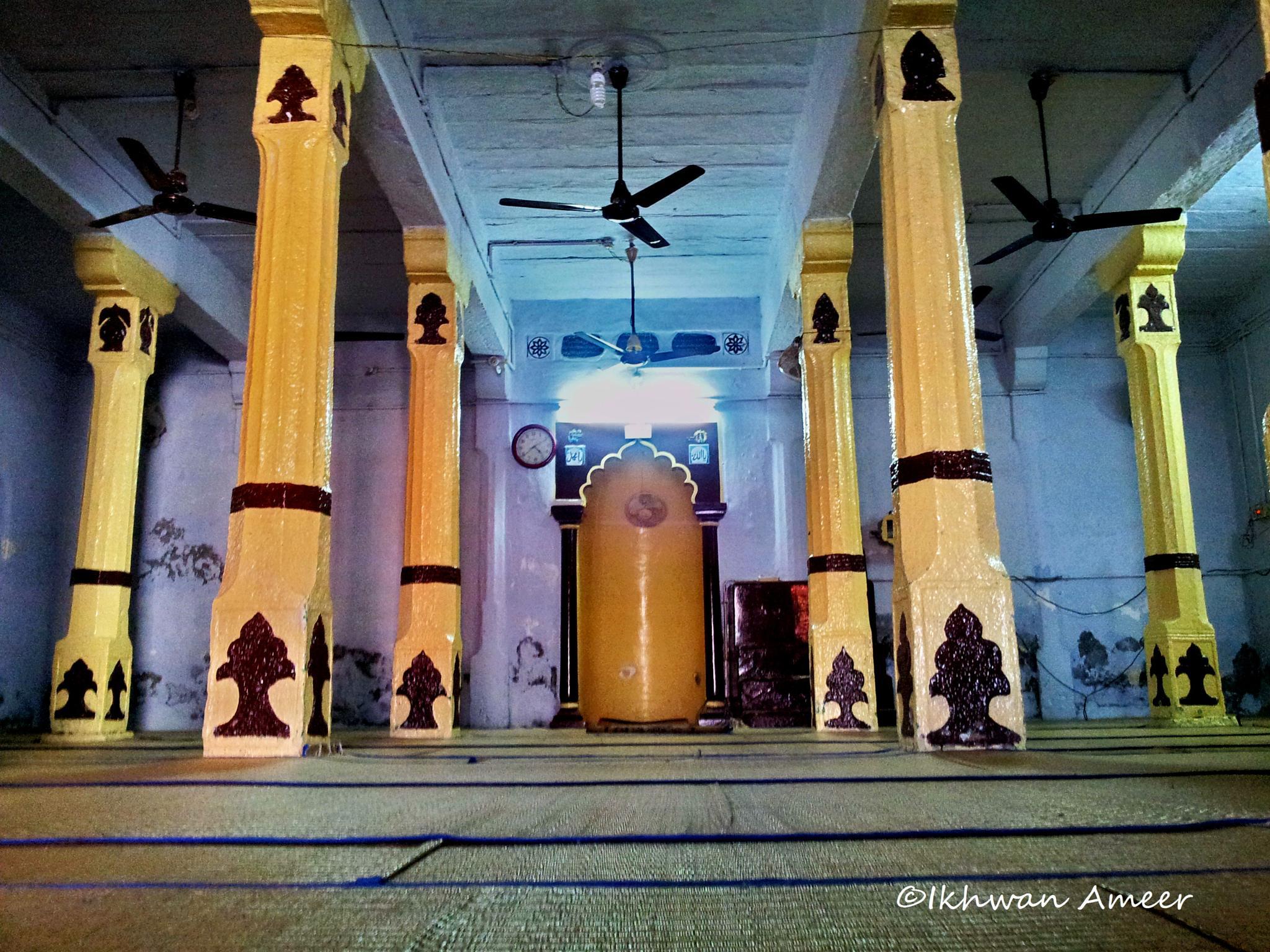 Ancient Stone Masjid  by Ikhwan Ameer