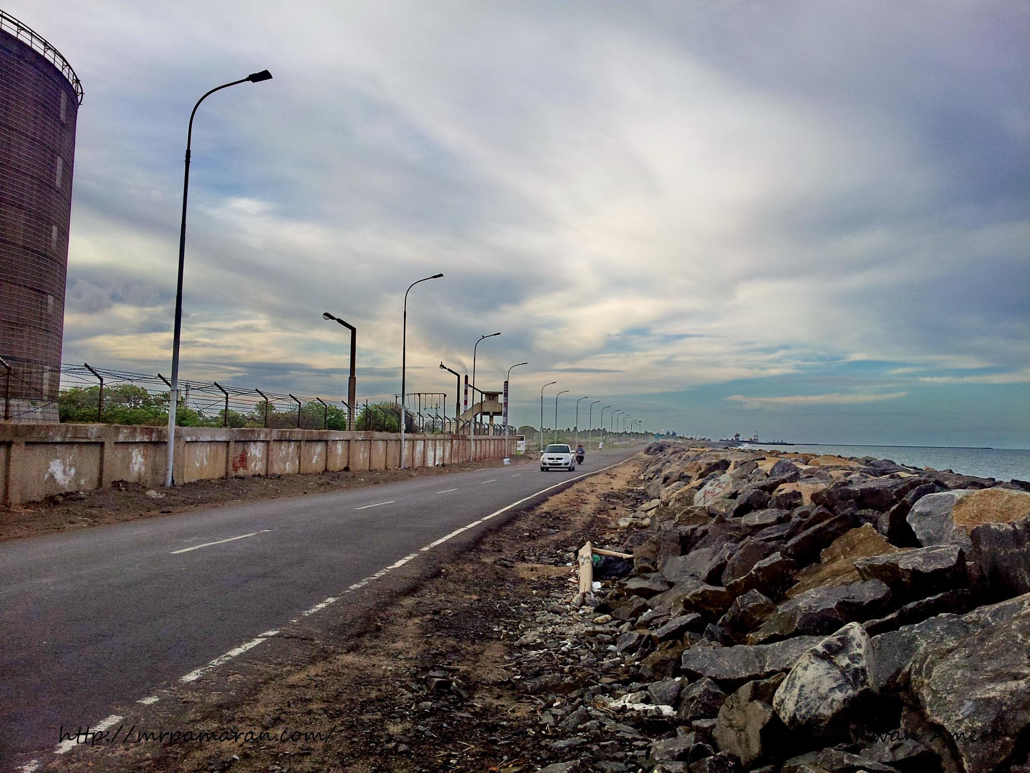 The Beach Road by Ikhwan Ameer