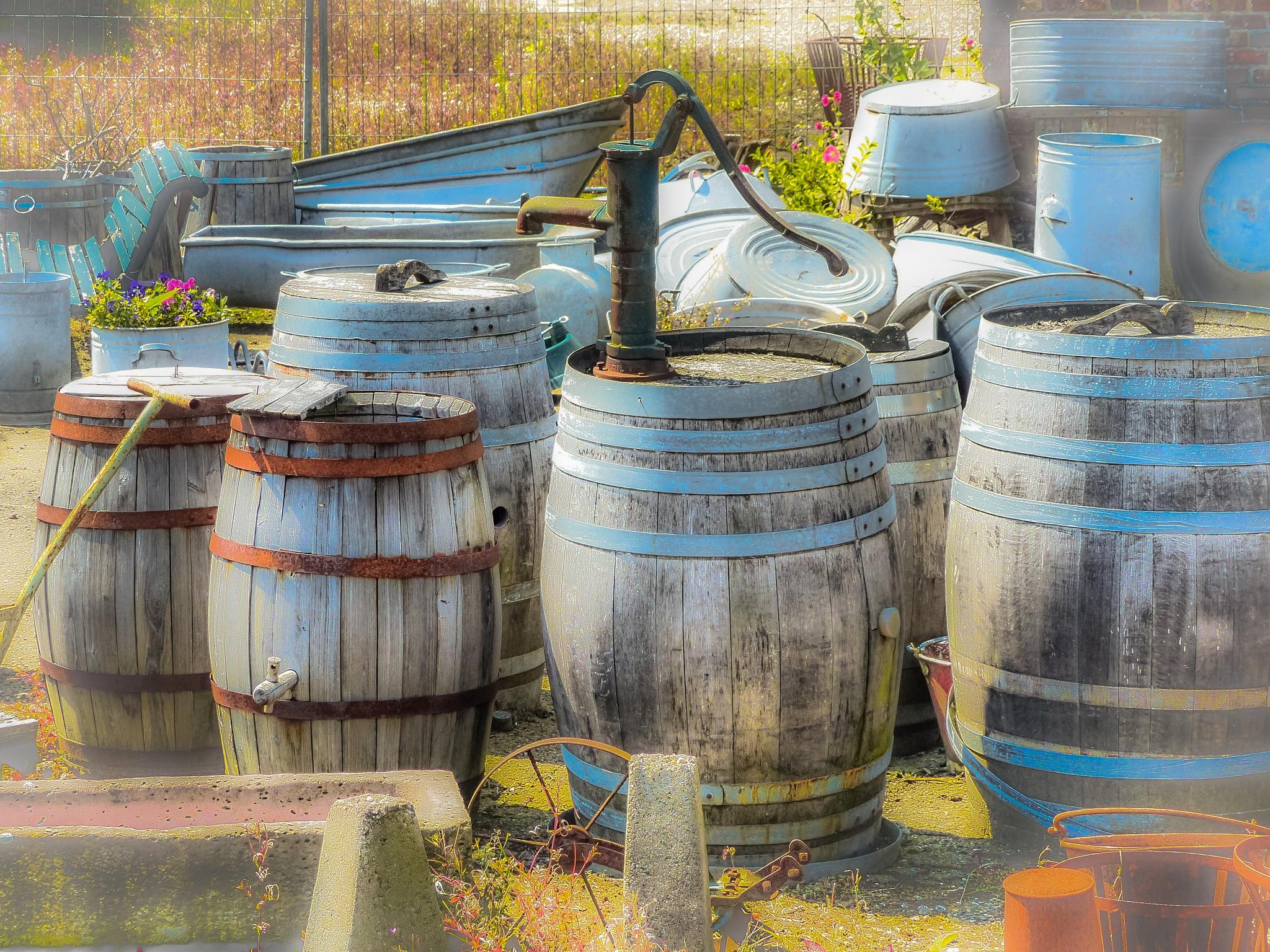barrels by Paul Geutjes