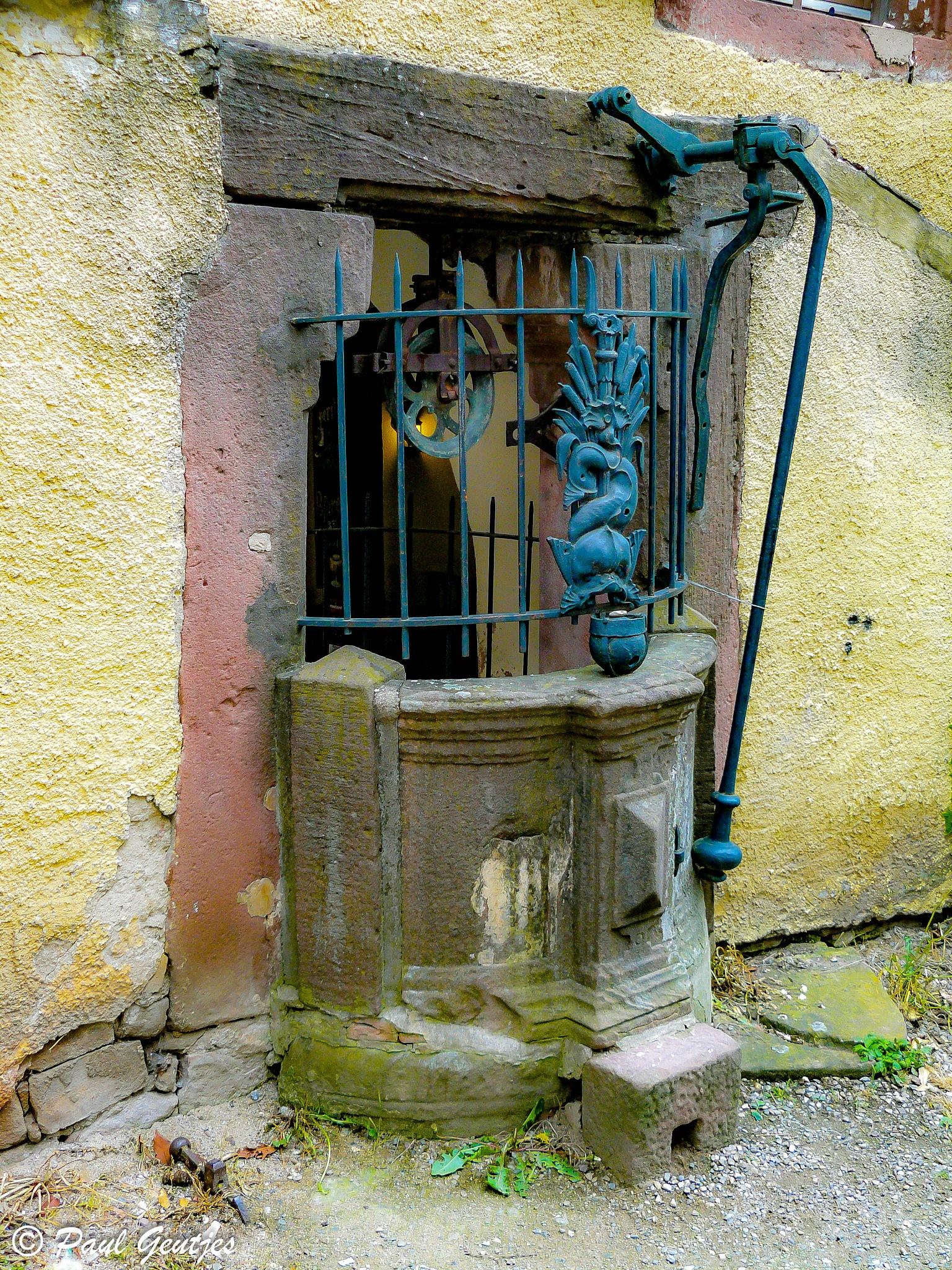 Old Well by Paul Geutjes
