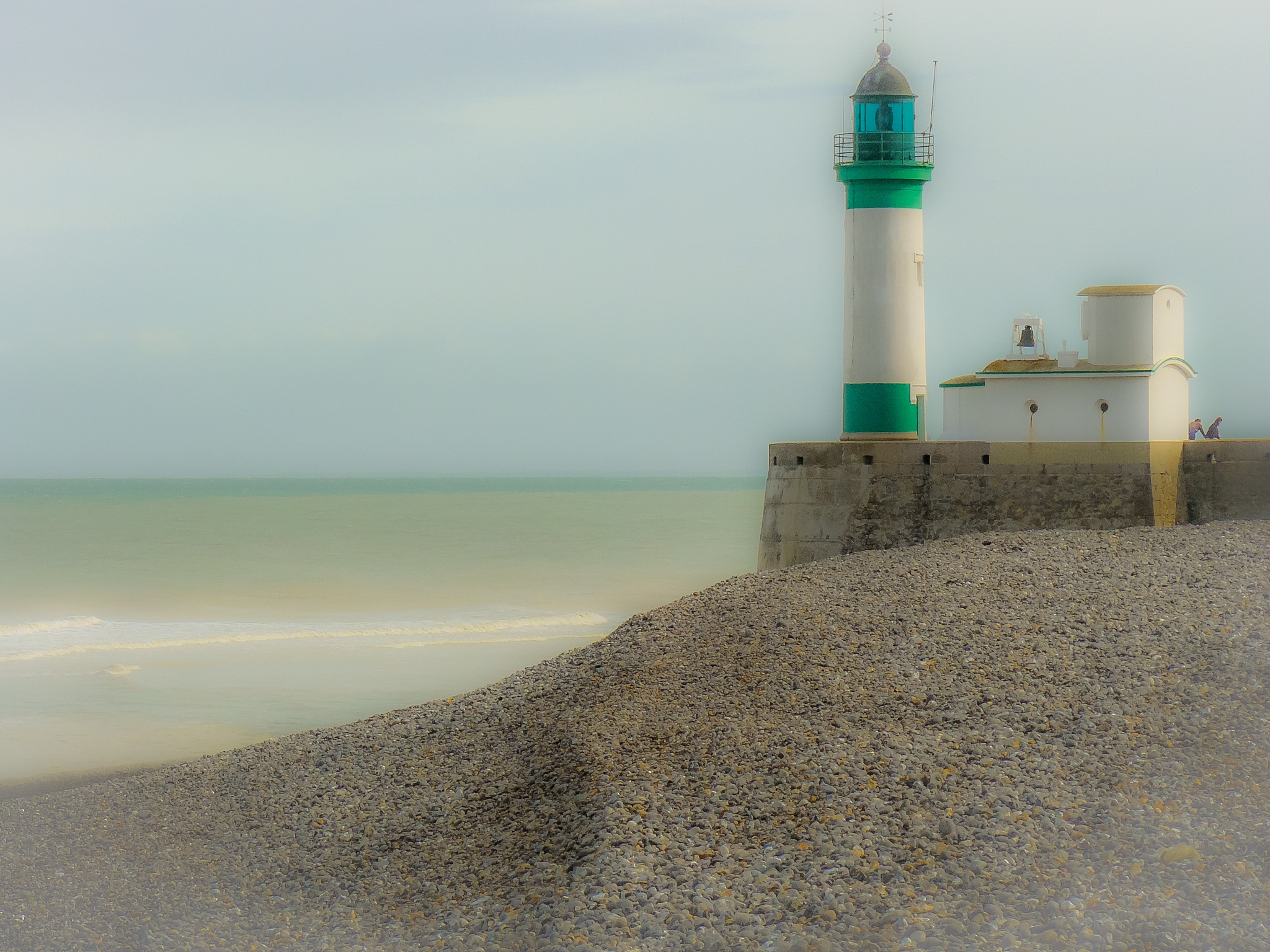 lighthouse France by Paul Geutjes