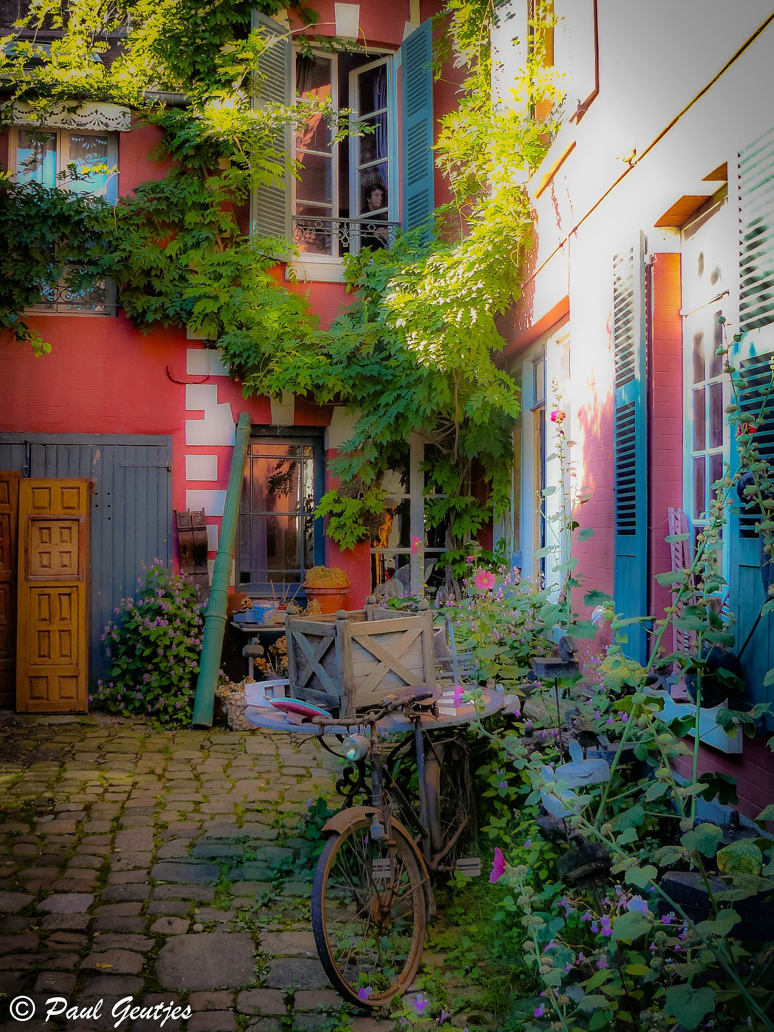 French  courtyard by Paul Geutjes