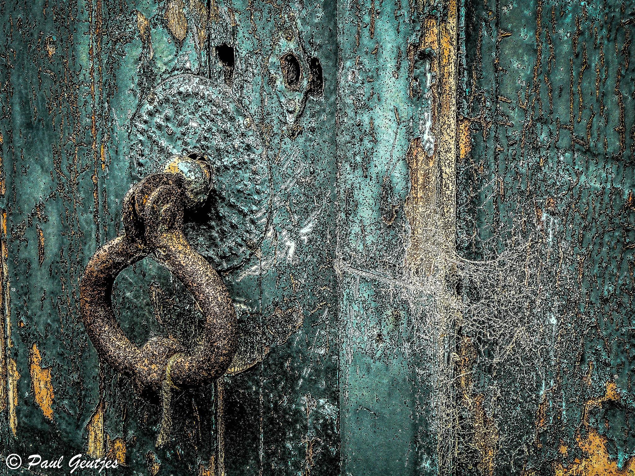 Very Creepy Door by Paul Geutjes