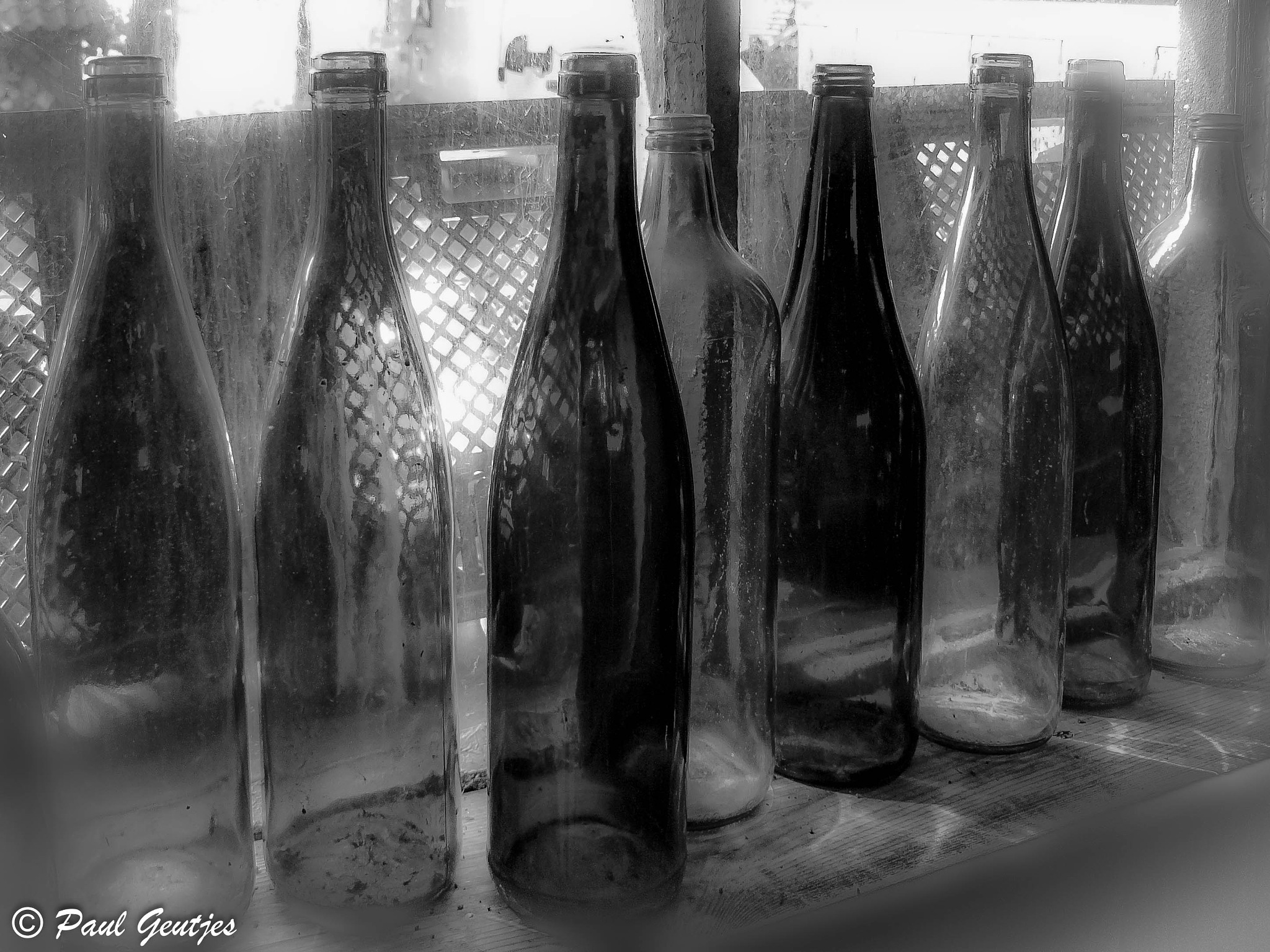 Bottles 4 of 4 by Paul Geutjes