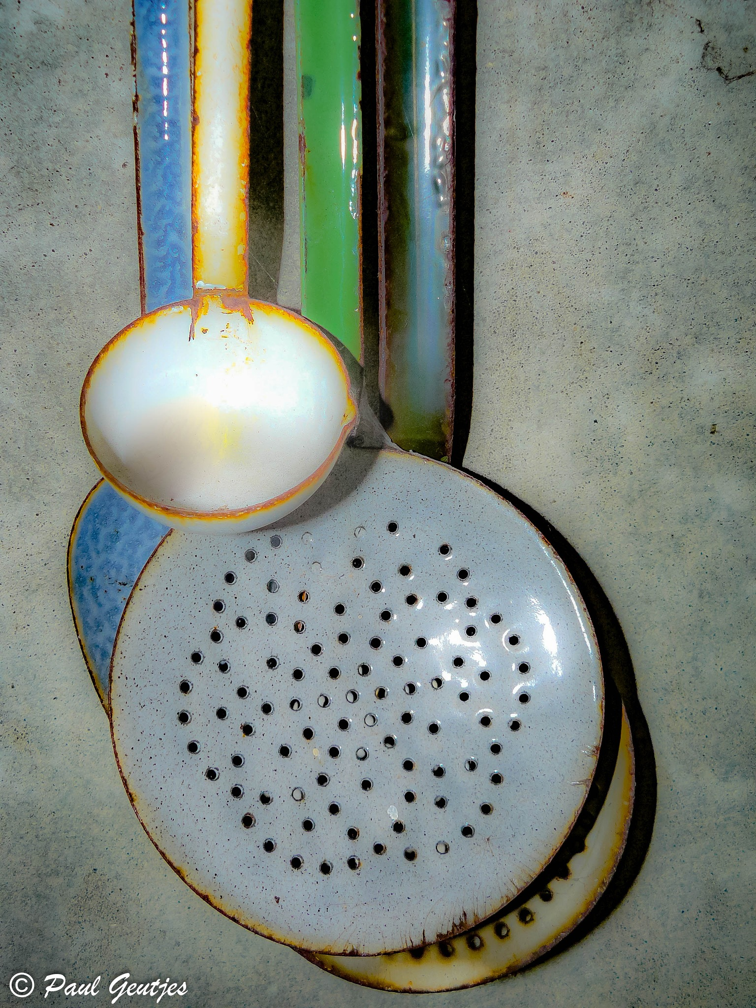 Old Kitchenware by Paul Geutjes