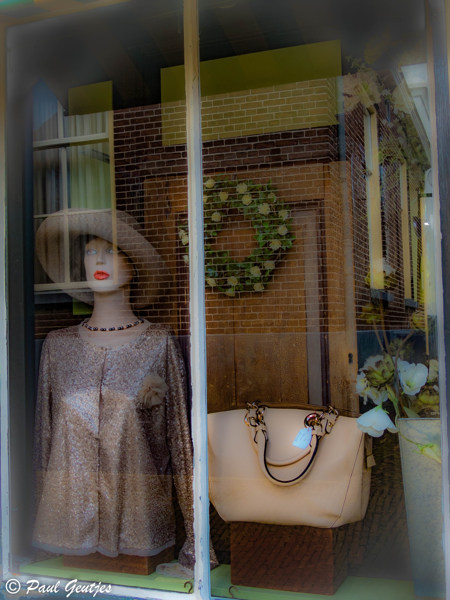 Shop Window Reflection by Paul Geutjes