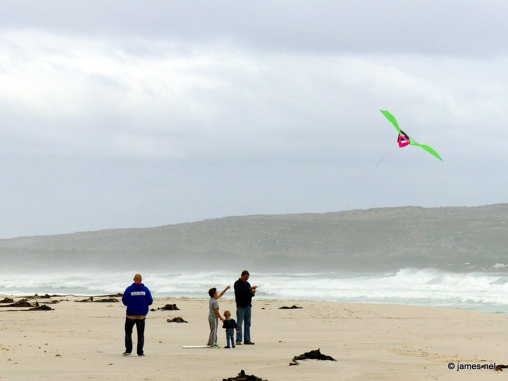 kite-flying by James Nel