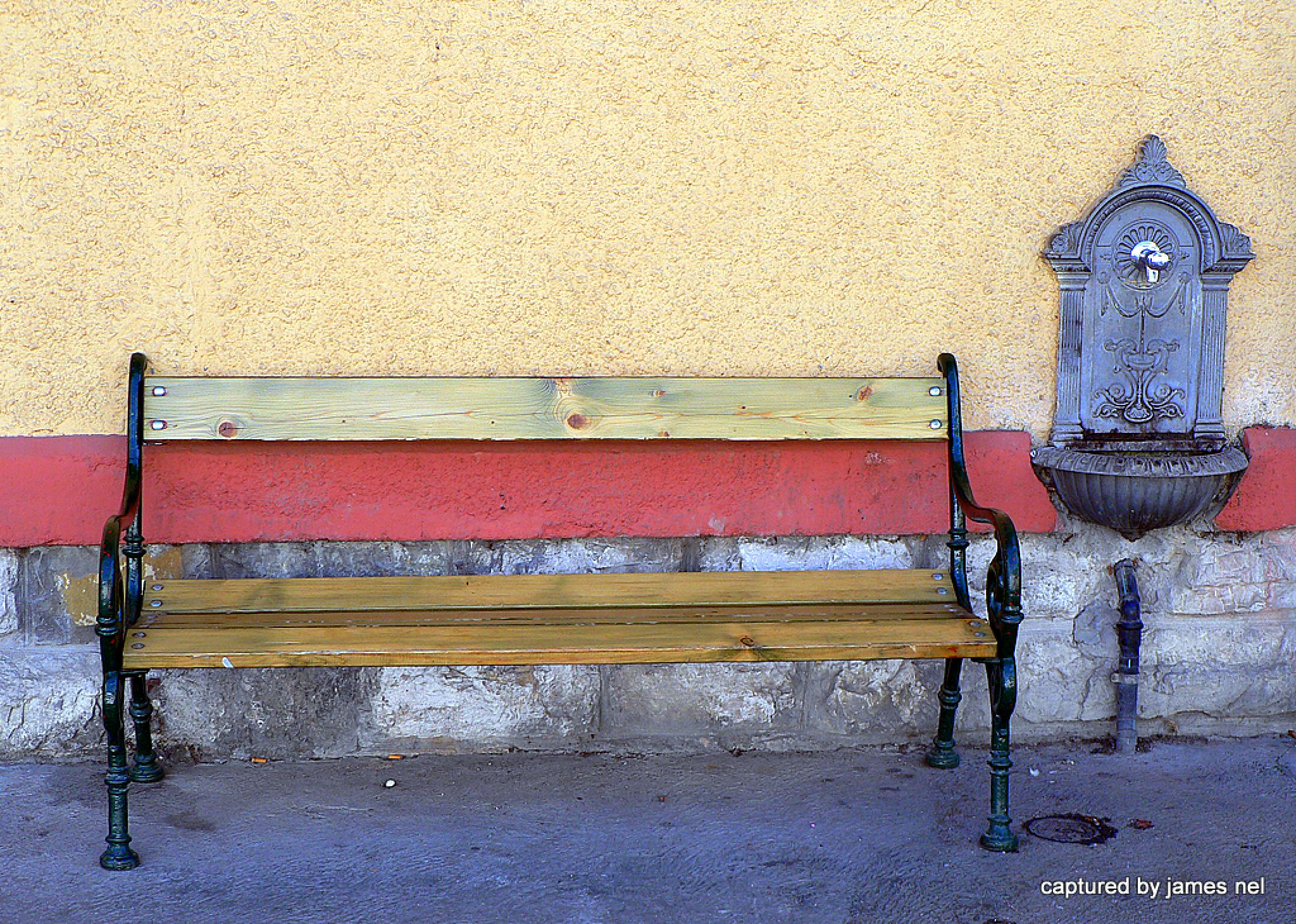 old bench by James Nel