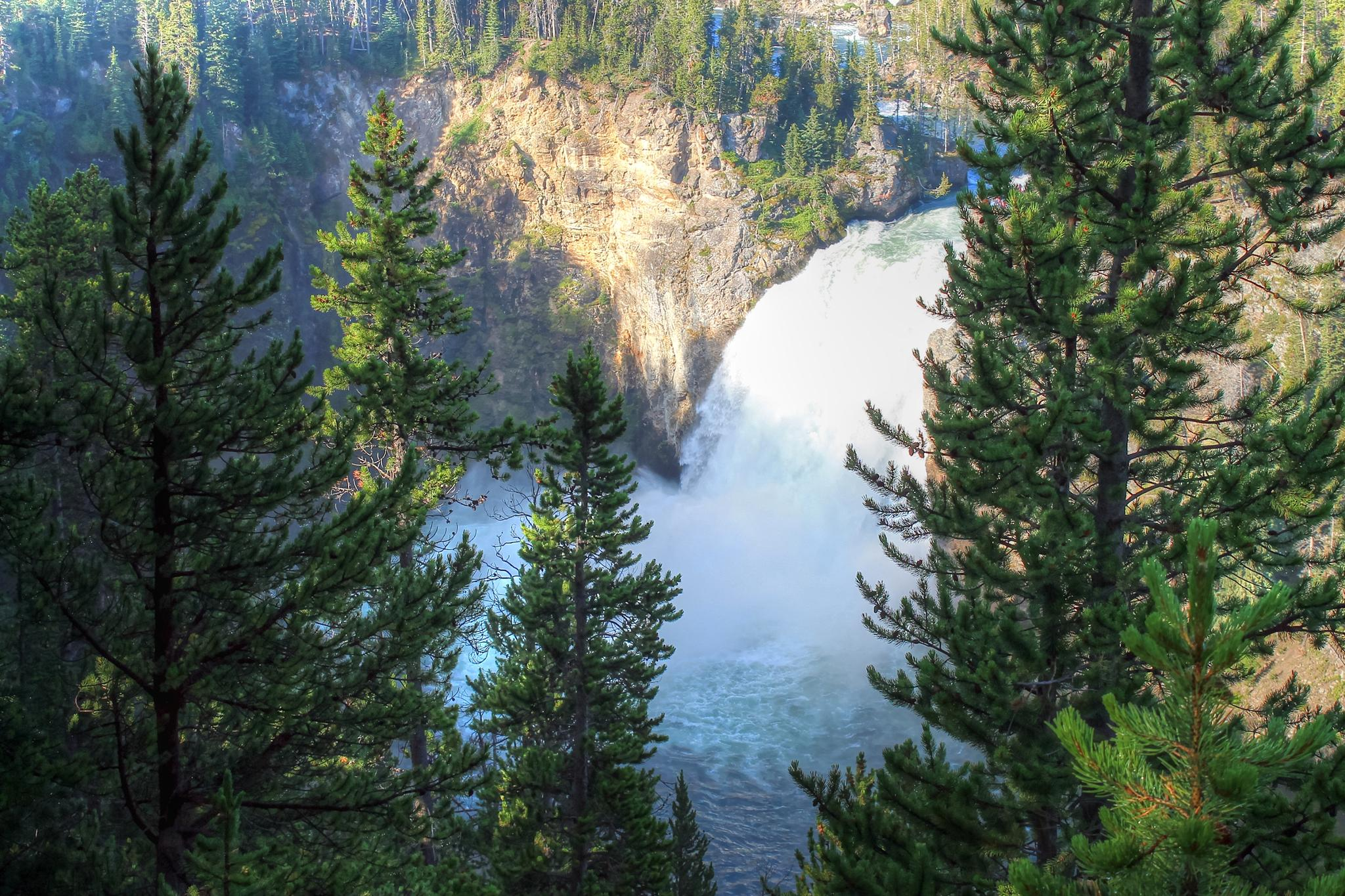 Upper Falls of the Yellowstone by Barry Houser