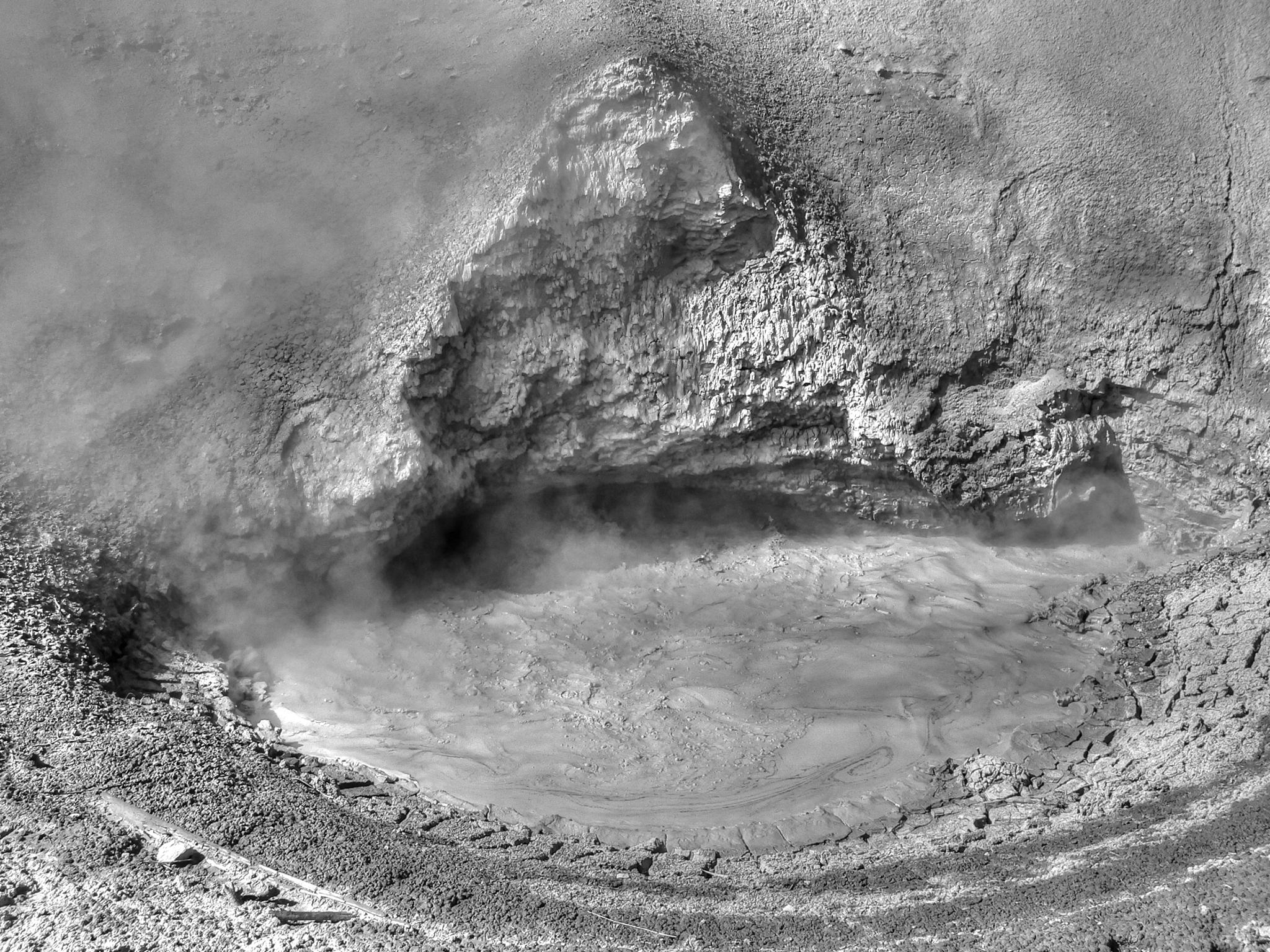 Mud Volcano by Barry Houser