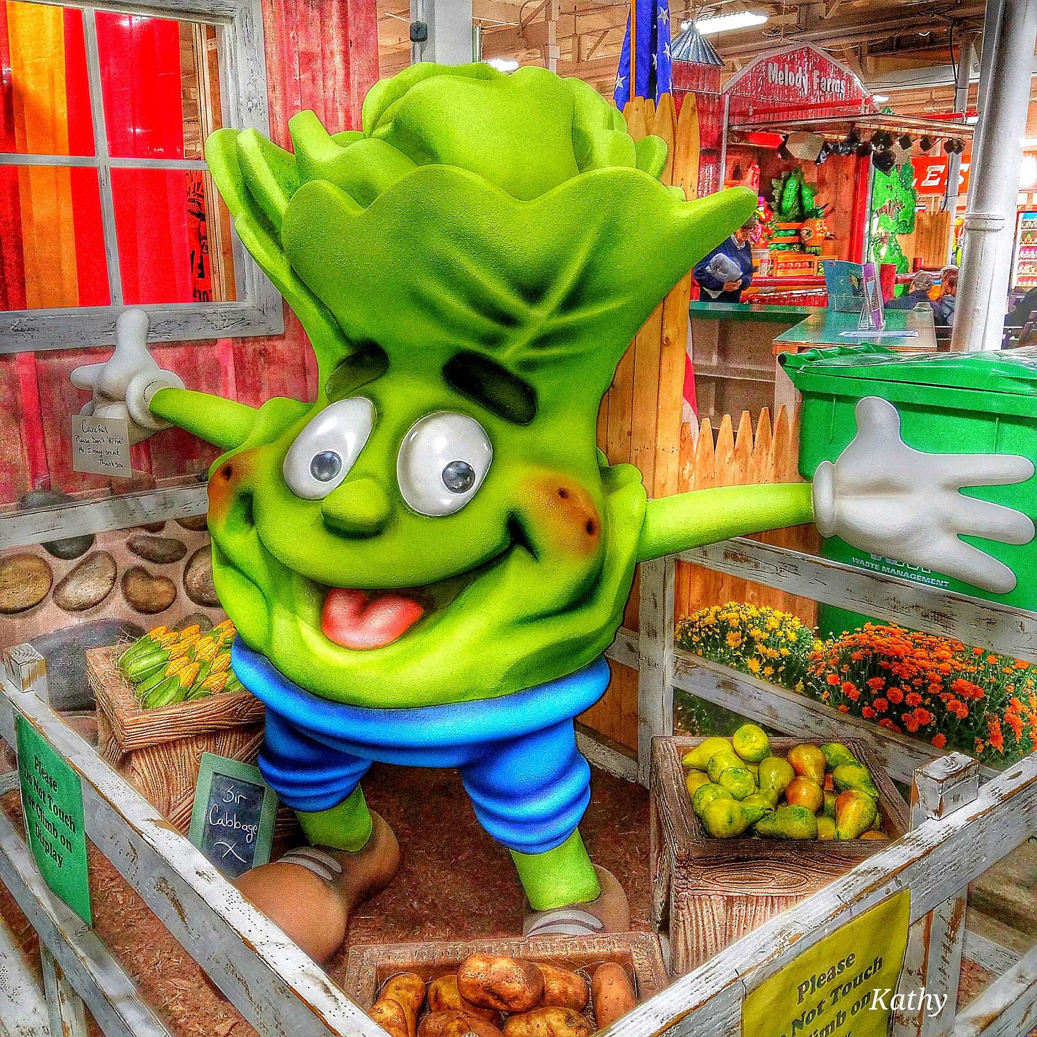 The Big E.  The largest fair in the Northeast USA.  by Kathy Sullivan APRN