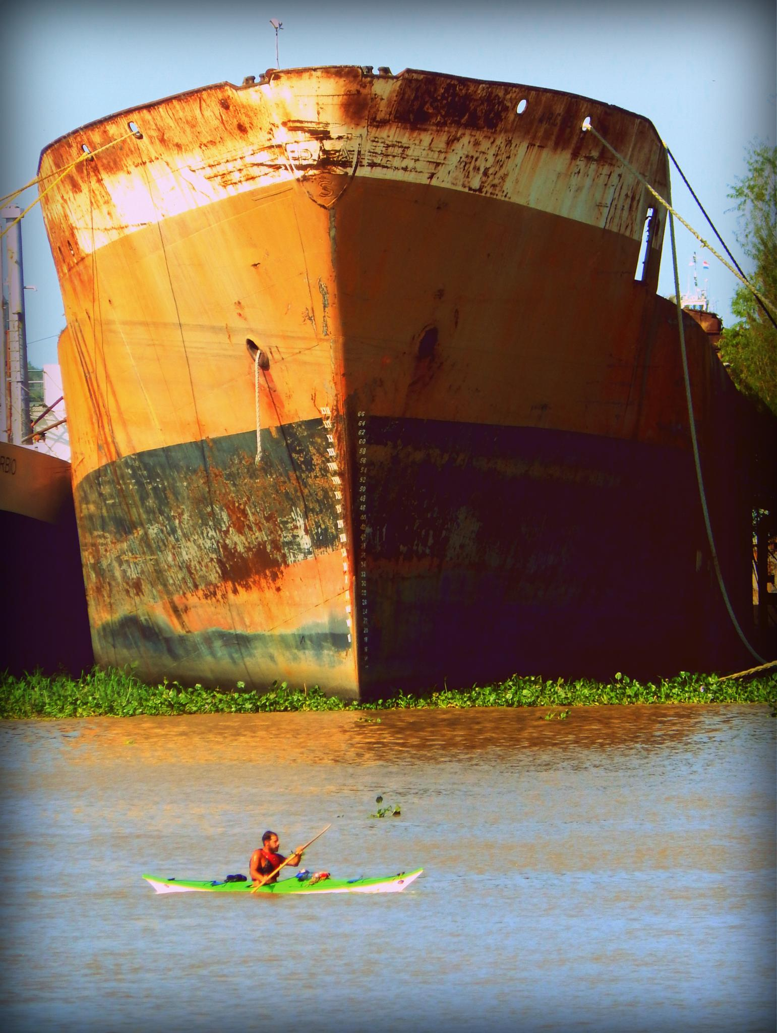 Photo in Sports #river #ship #sports