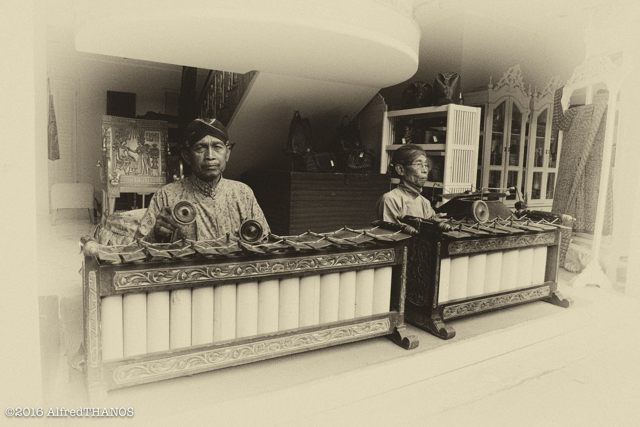 gamelan players 3 by alfredthanos