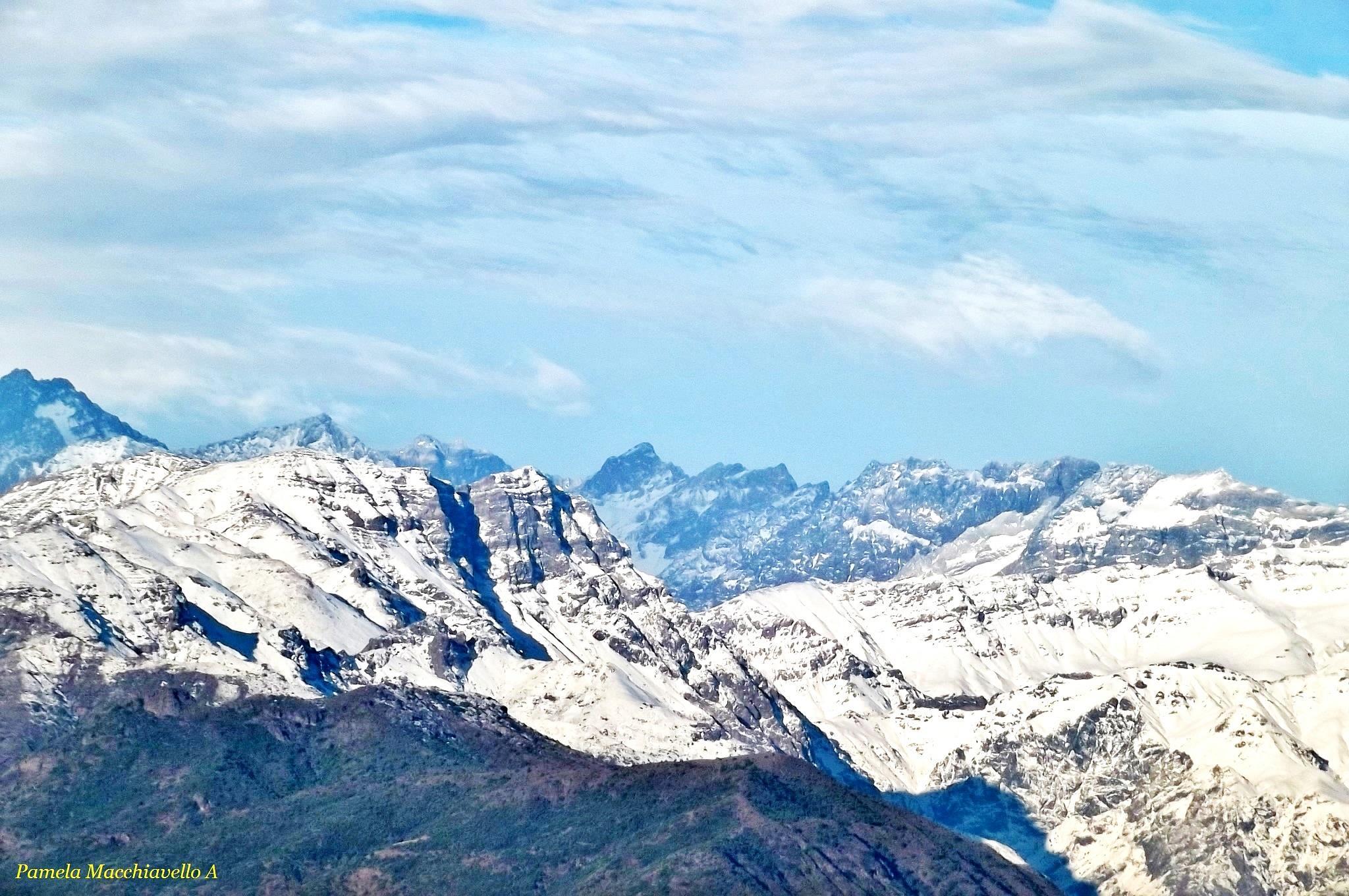 Cordillera de los Andes by Pamela Macc