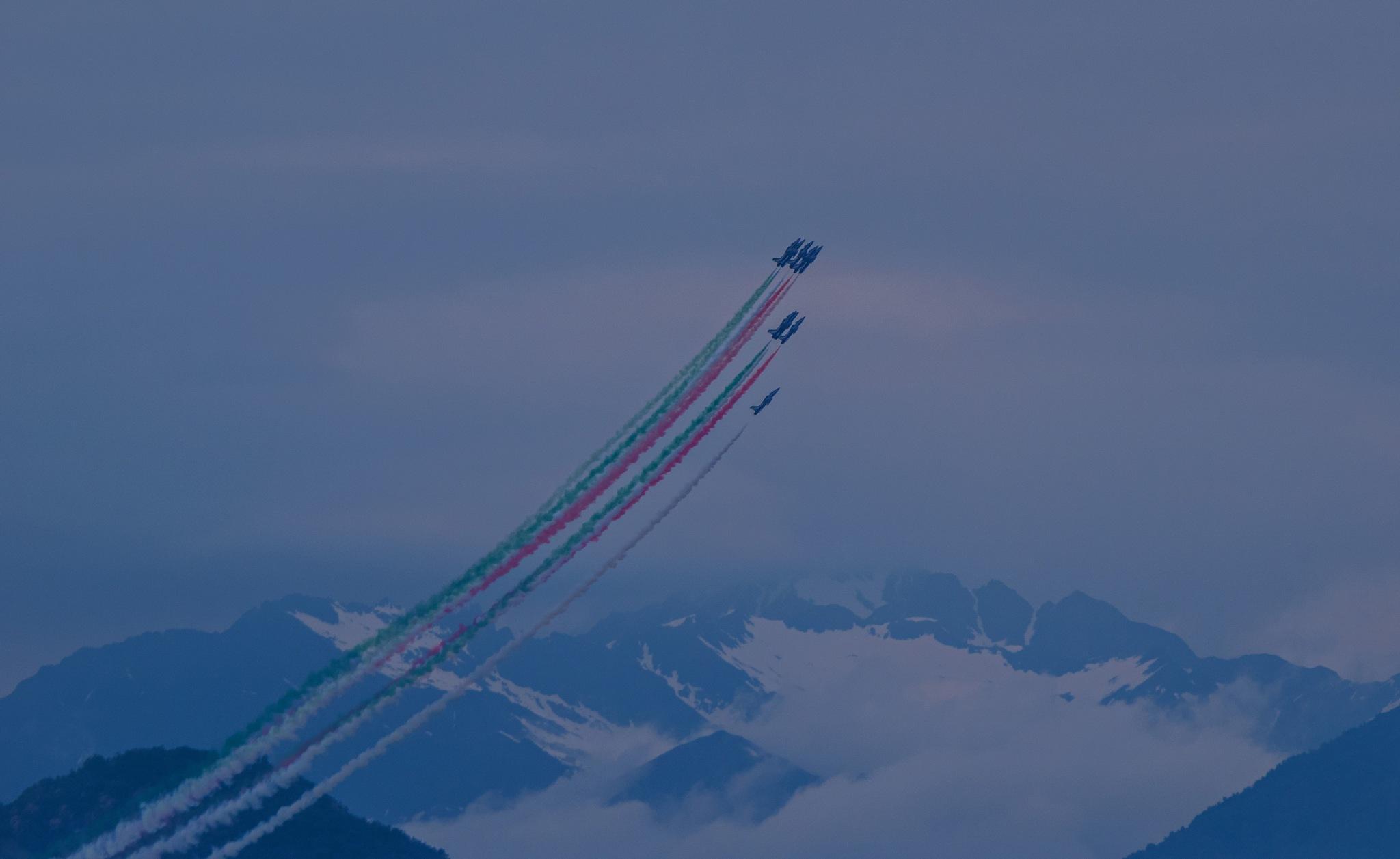 Frecce Tricolori  by v2franchi