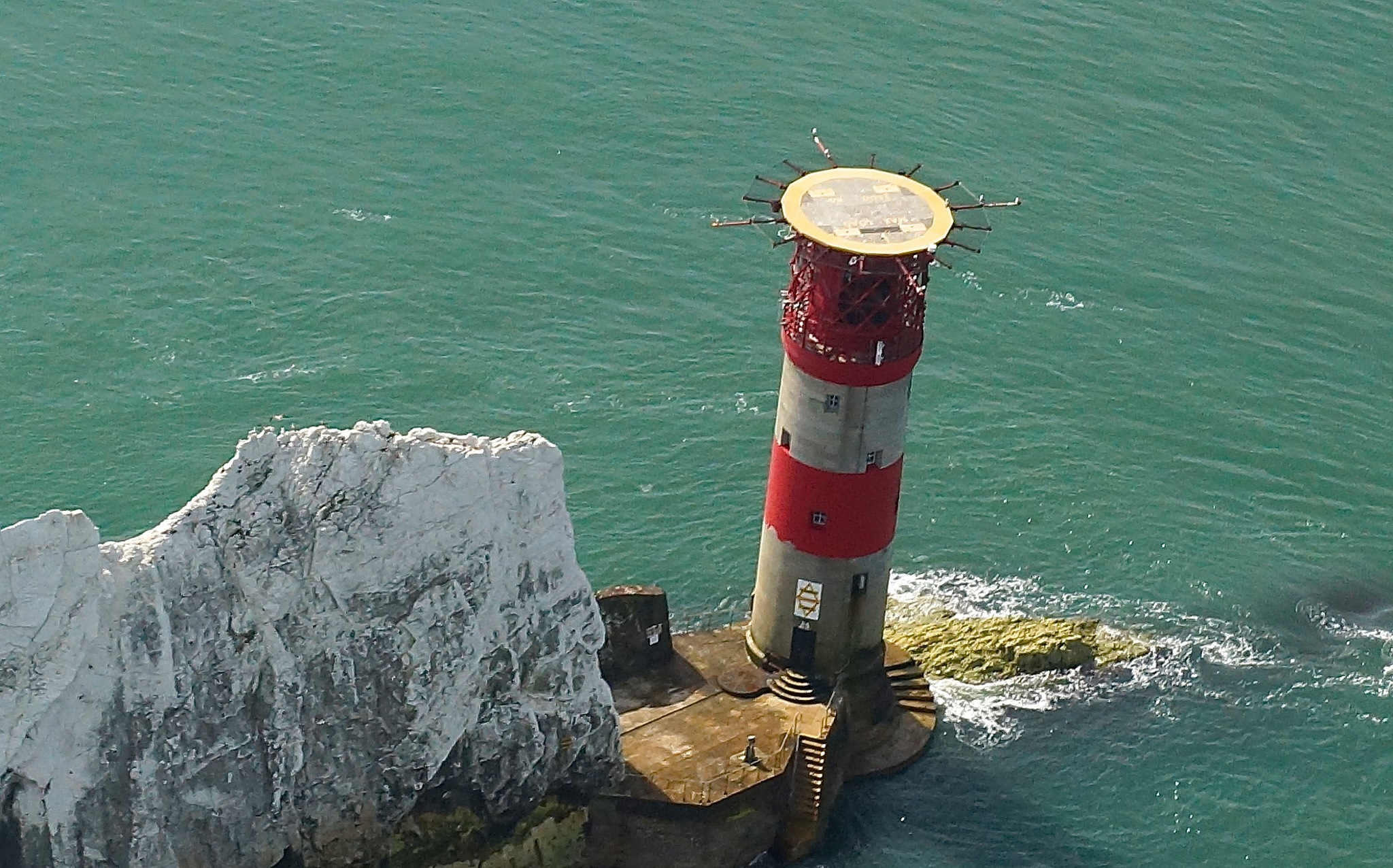 Needles lighthouse by JohnBulpin