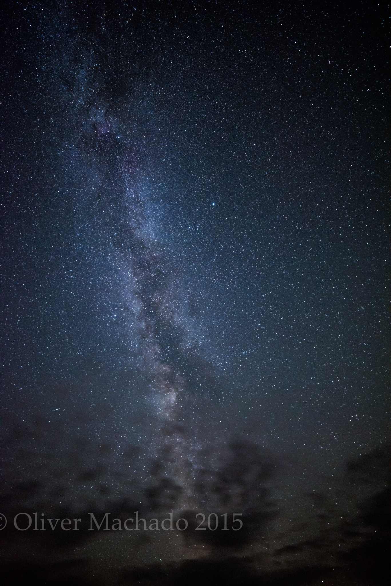 The Milky Way by Oliver Machado