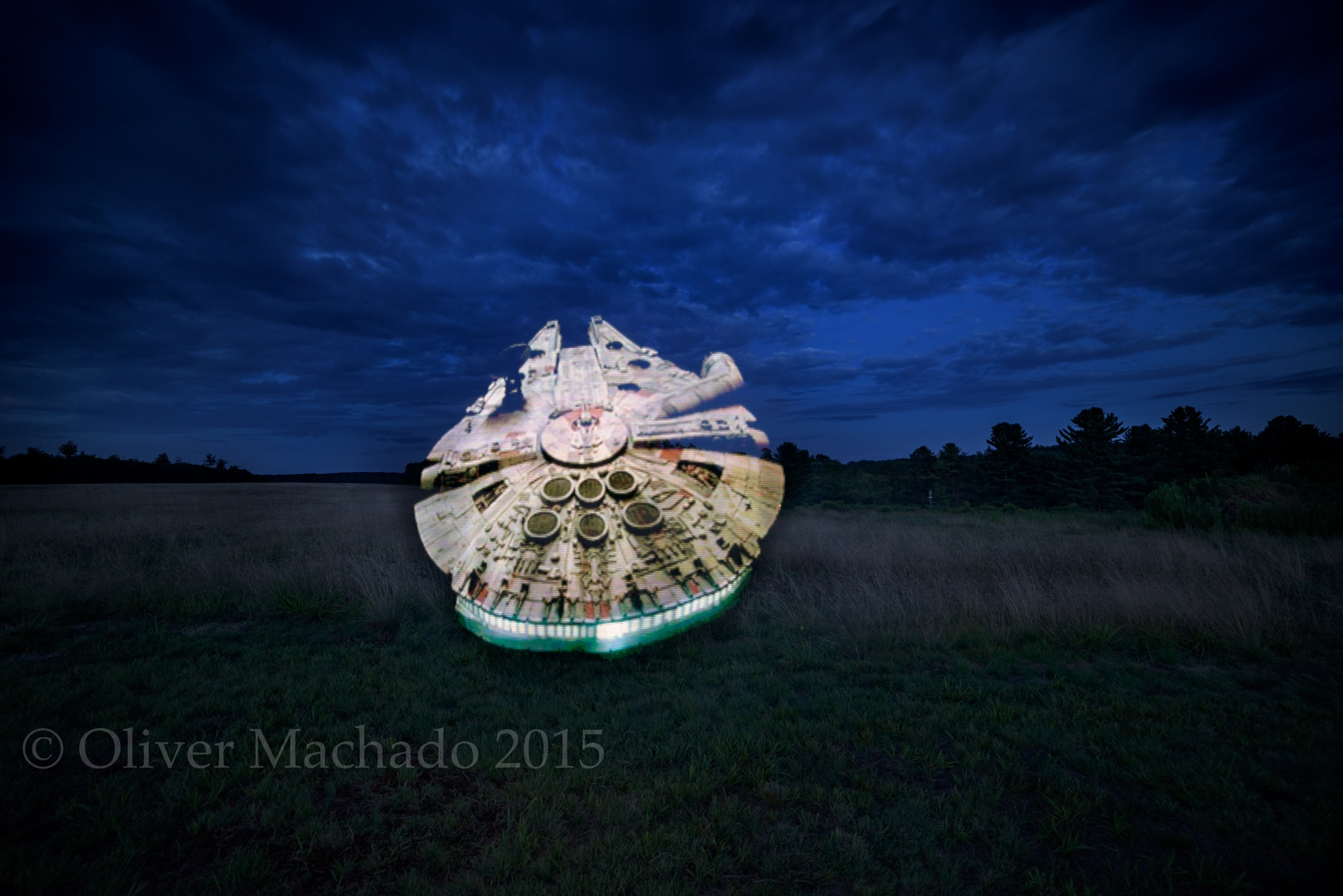 Light Painting by Oliver Machado