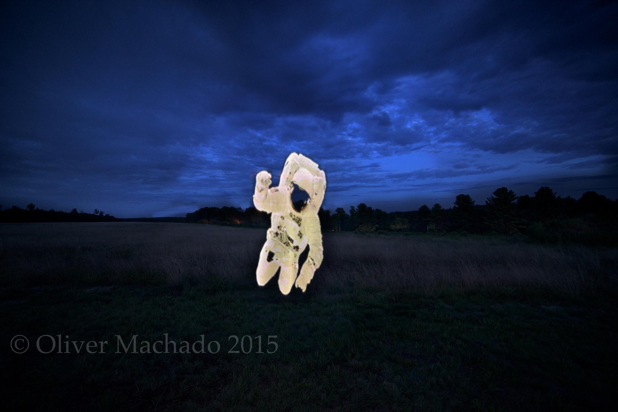 Interstellar Visitor by Oliver Machado