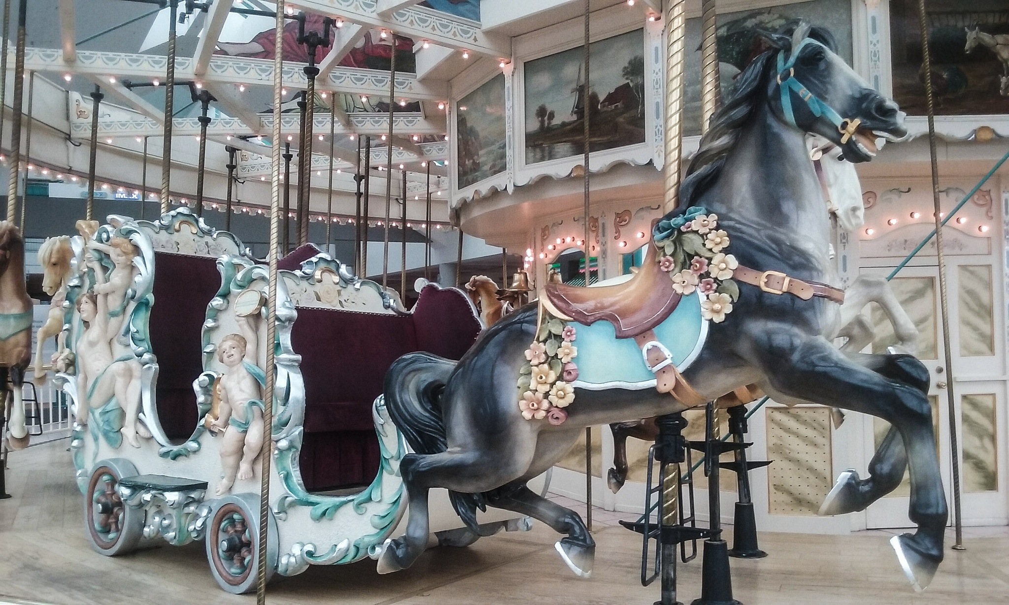 Carousel by Mark Morrison-LeMay