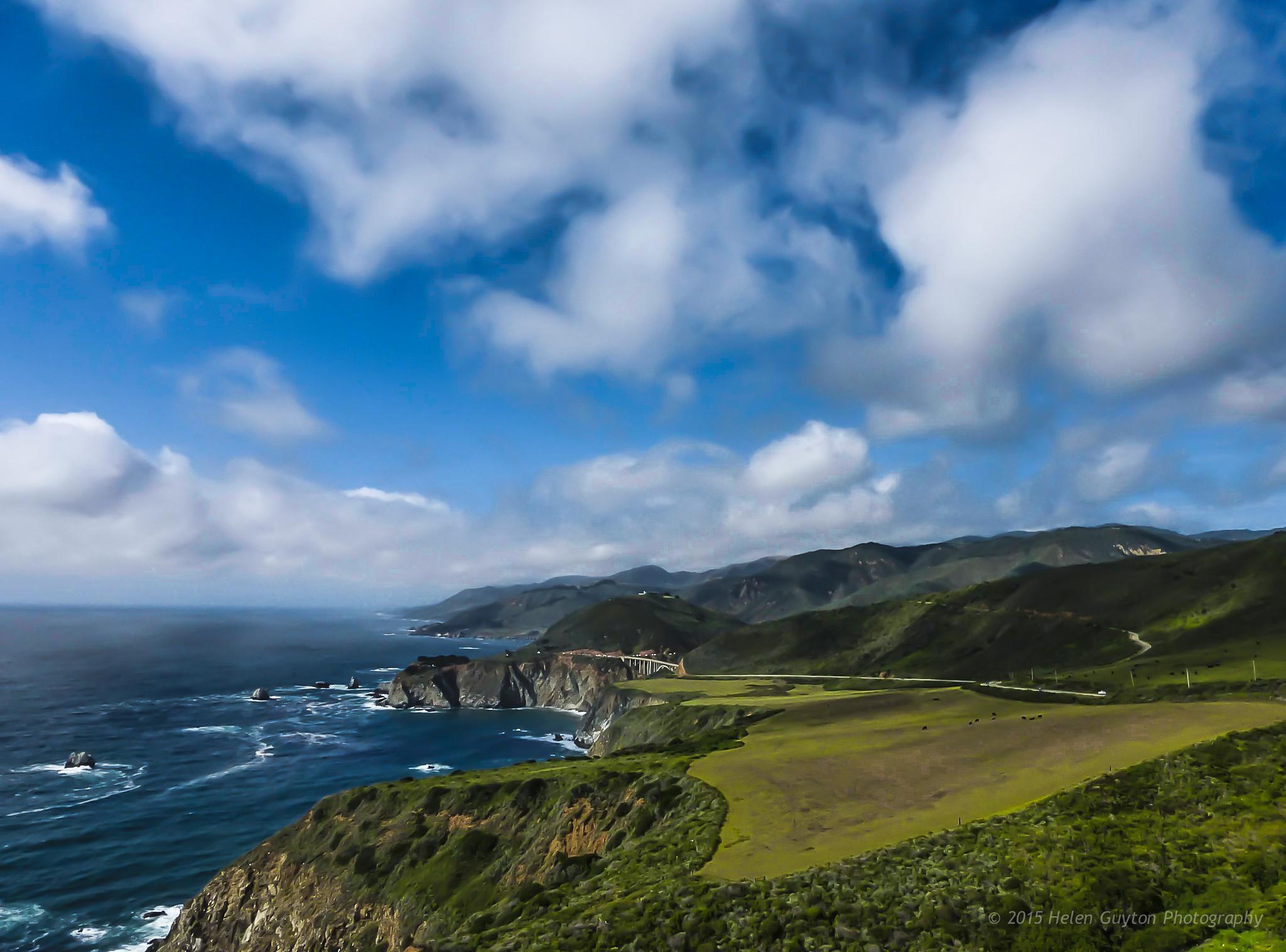 Big Sur Coastline by HelenGuyton