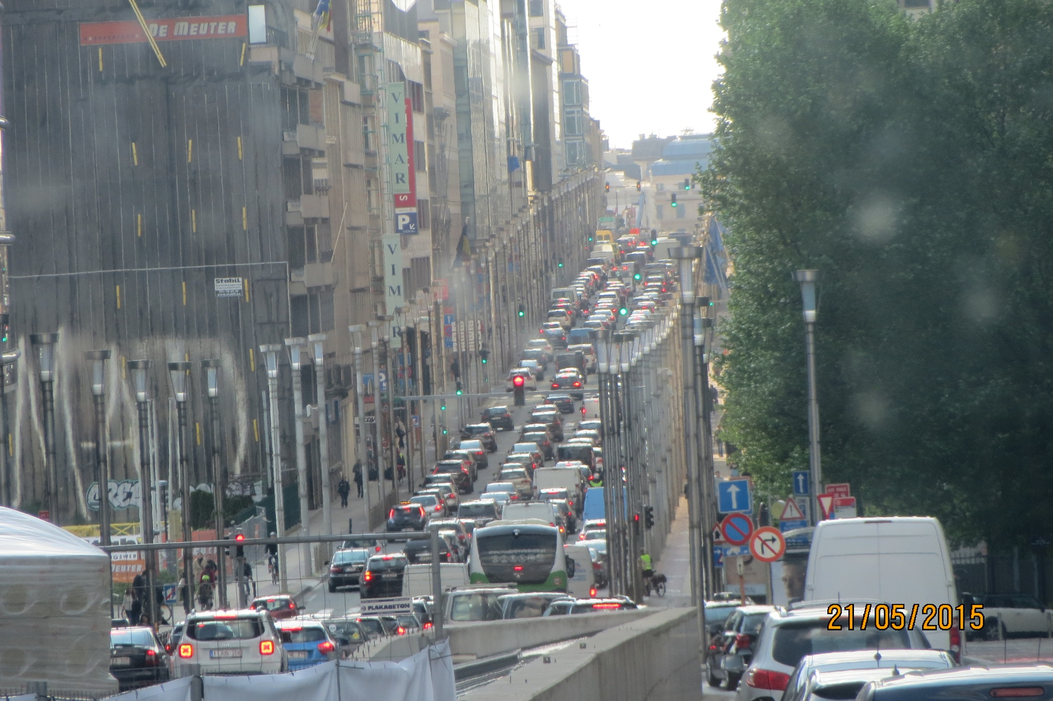 a small trafic jam. by eapenthomas2