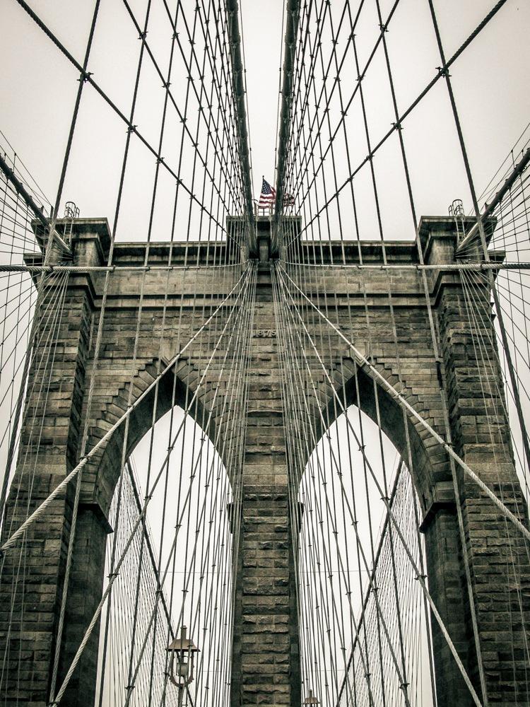 Photo in Street Photography #new york #bridge #brooklyn #canon #edited #hdr