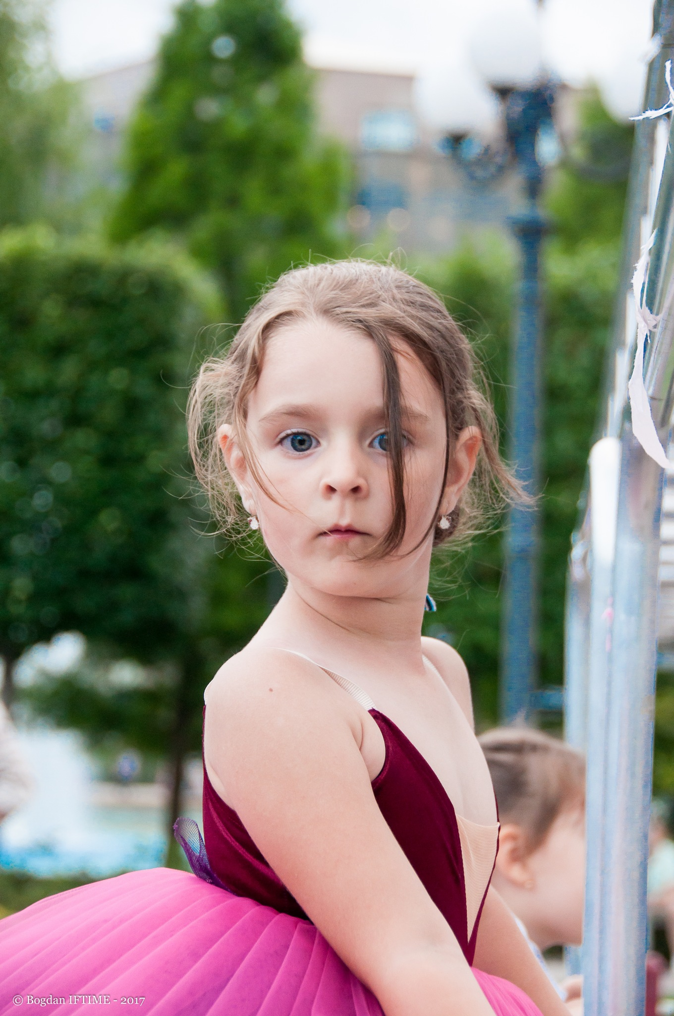 Little ballerina by Bogdan Iftime