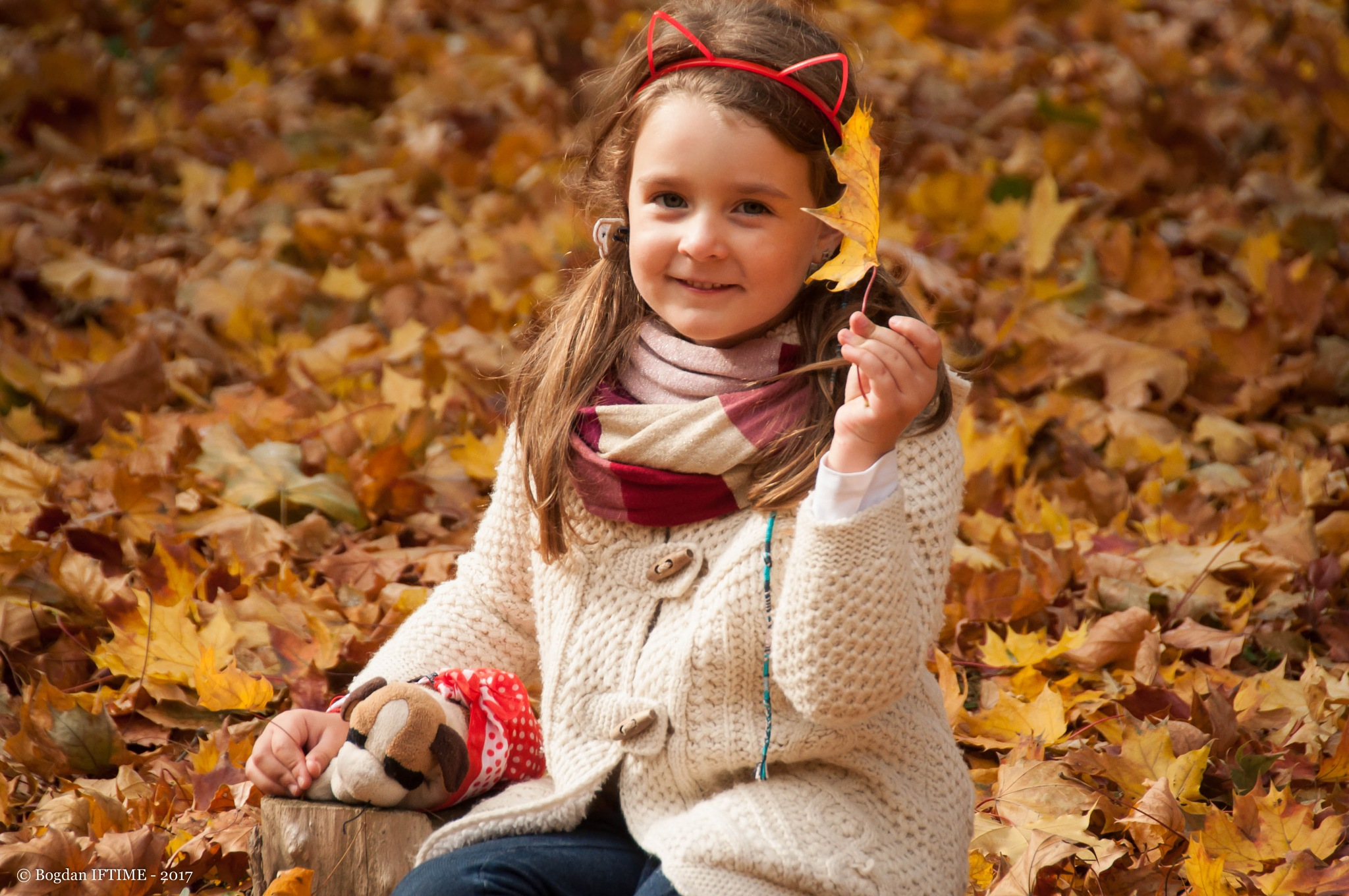My beloved daughter by Bogdan Iftime