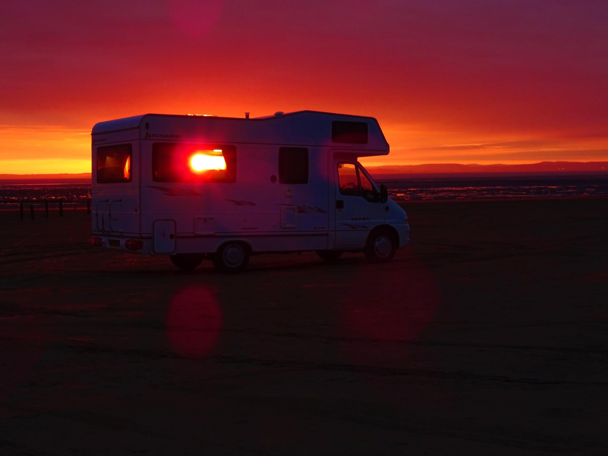 """sunset throu """"Just-us"""" by sallyannegriff"""