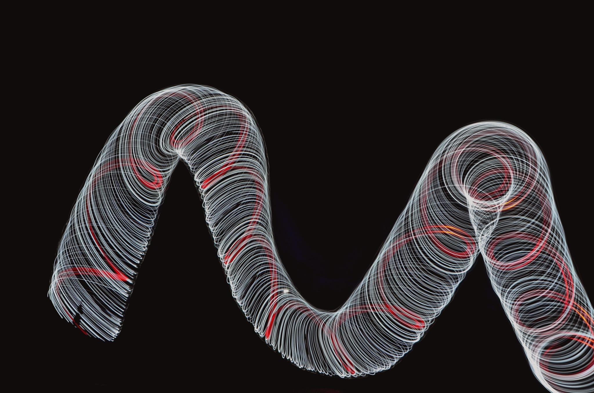 ligh spinning   by sallyannegriff