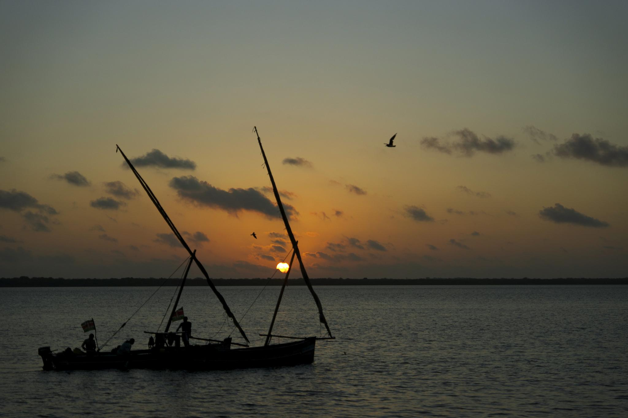 Lamu morning by Tihomir Trichkov