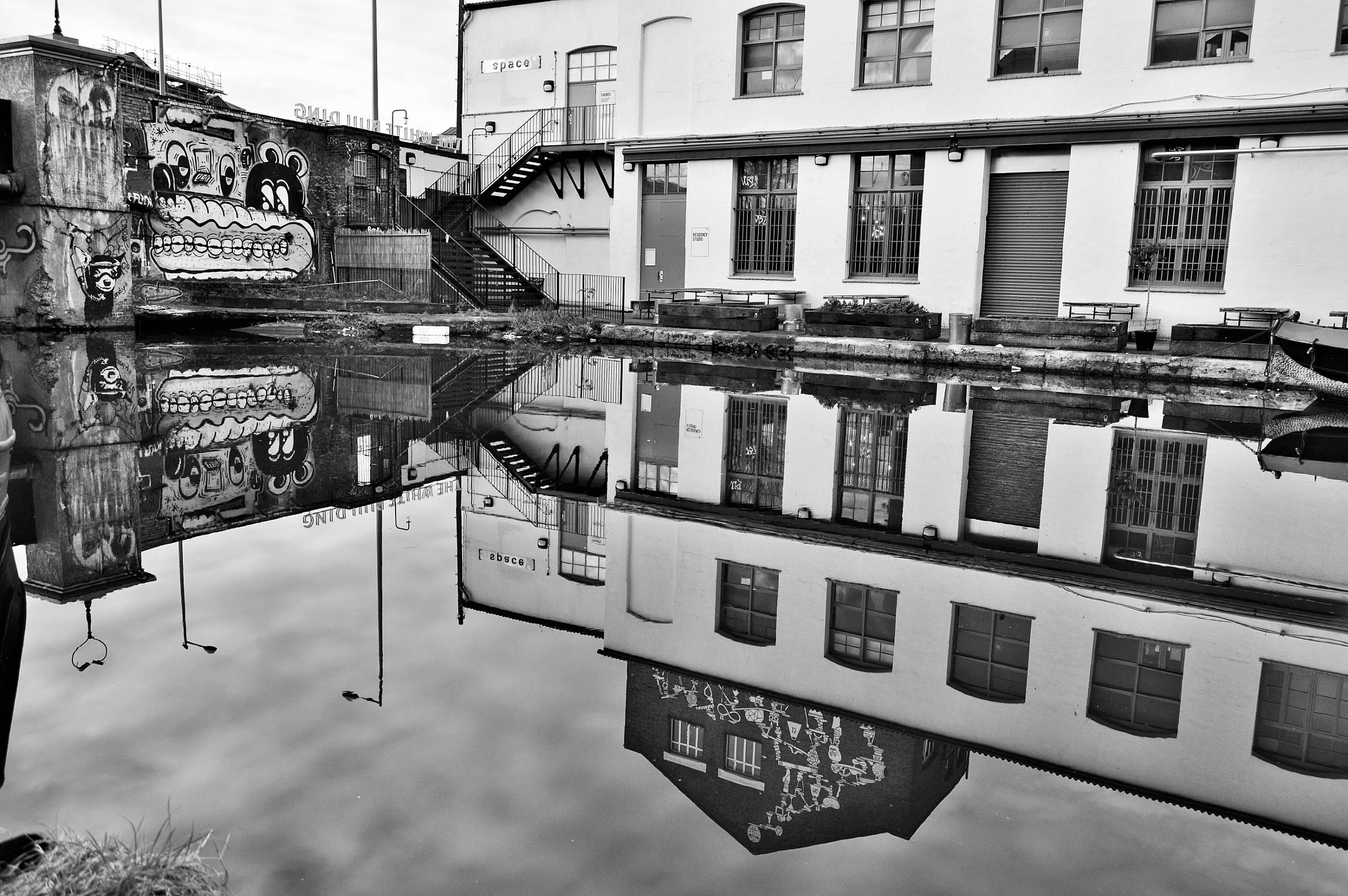 Hackney Wick reflections by maxsand68