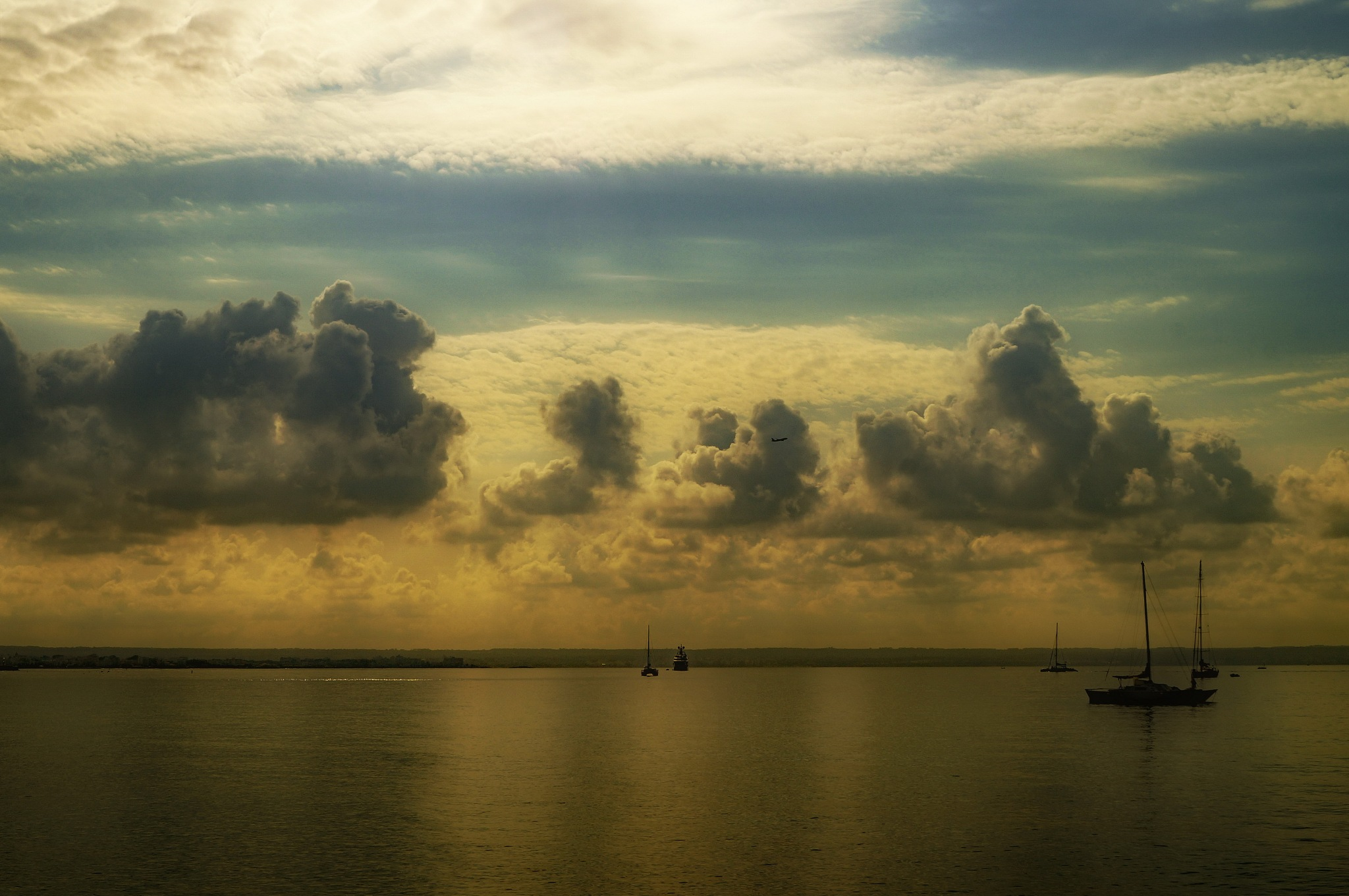 cruise on the Mediterranean by Frank Schmidt
