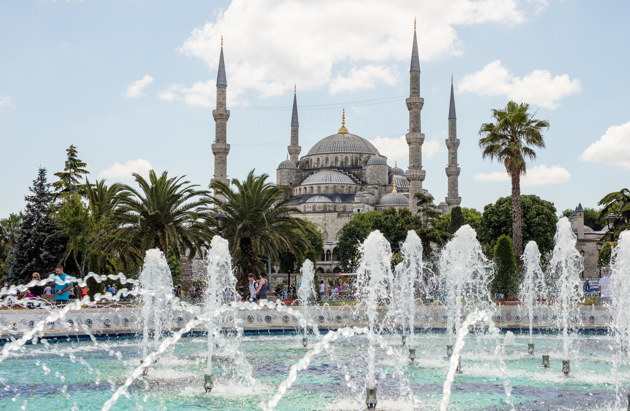 Blue Mosque by cenk sarvan